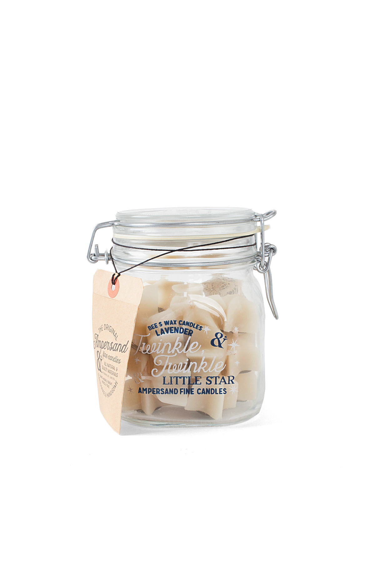 Ampersand Fine Candles : Twinkle Twinkle Little Star Jar (24piece)