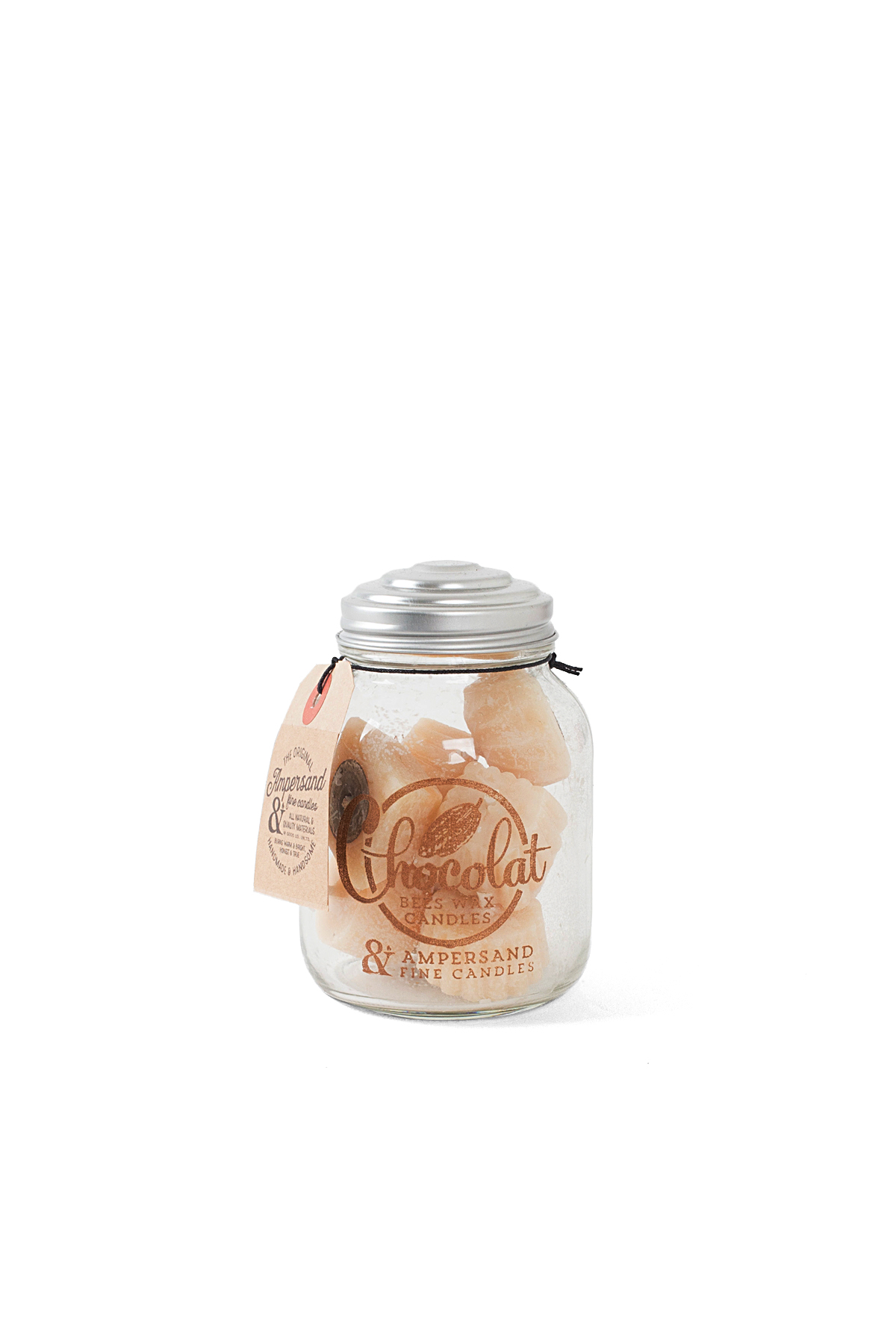 Ampersand Fine Candles : Chocolat Jar (8piece)
