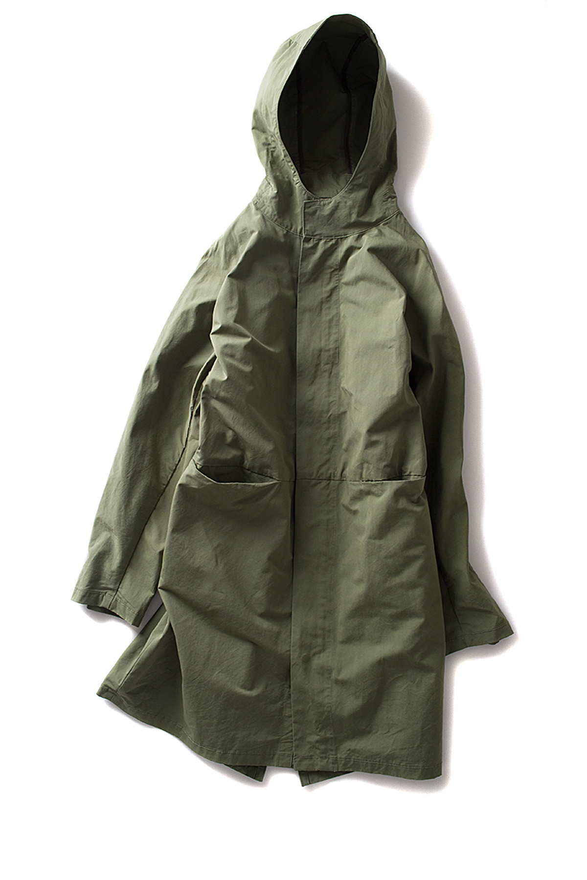 ordinary fits #WHITE : Fishtail Parka (Green)