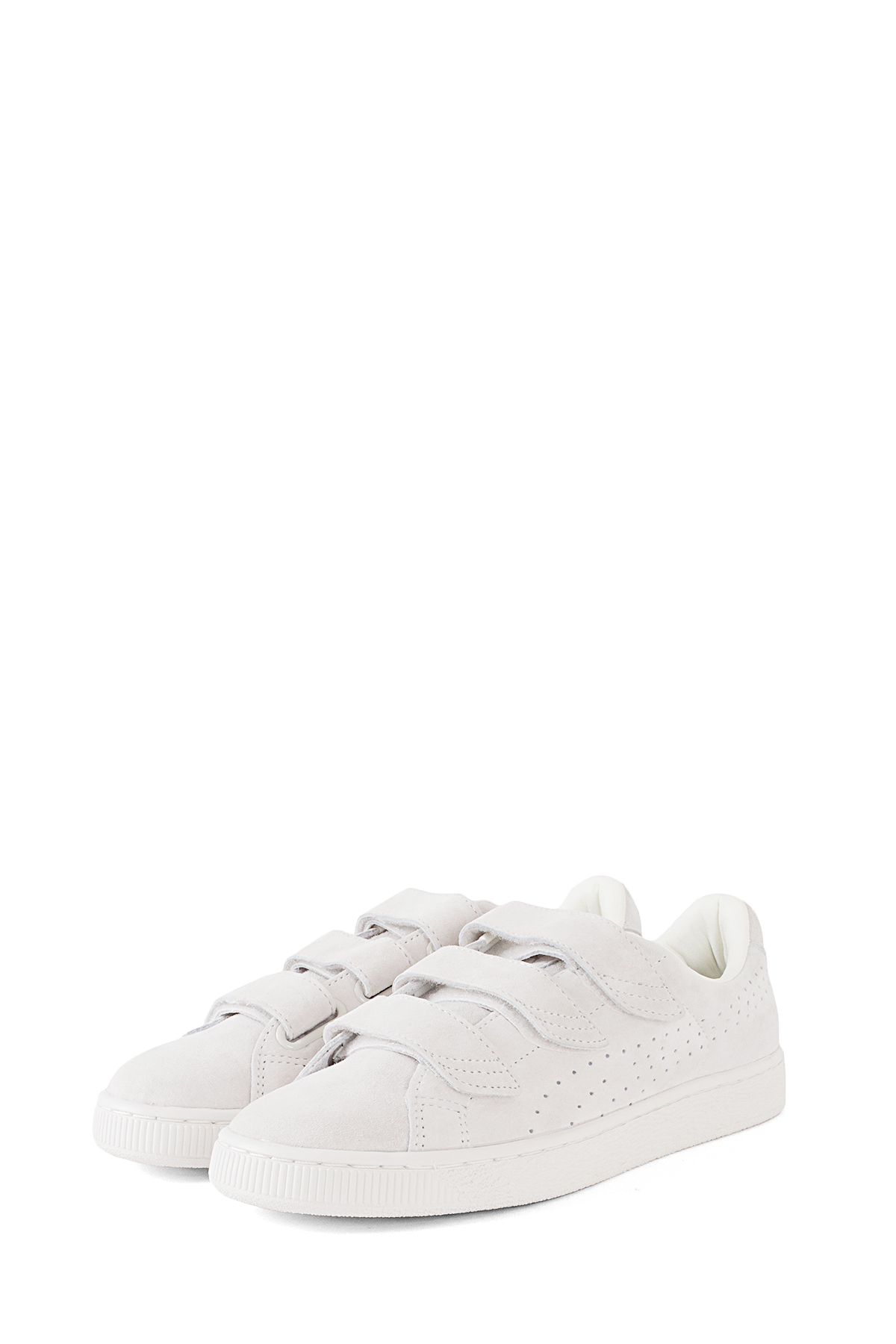 PUMA : Basket Strap Soft Premium Star (White)