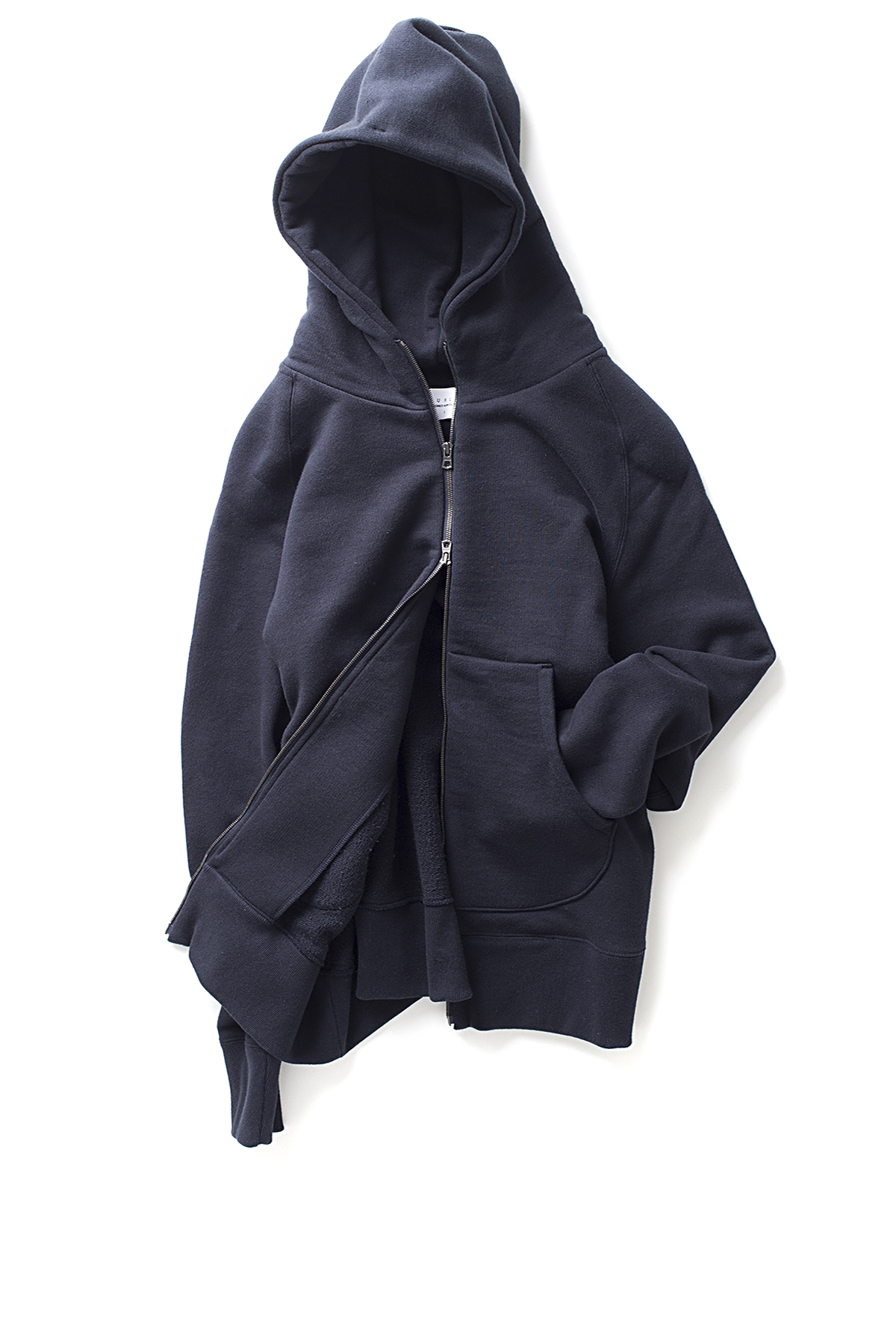 Curly : Bright Zip Parka (D.Navy)