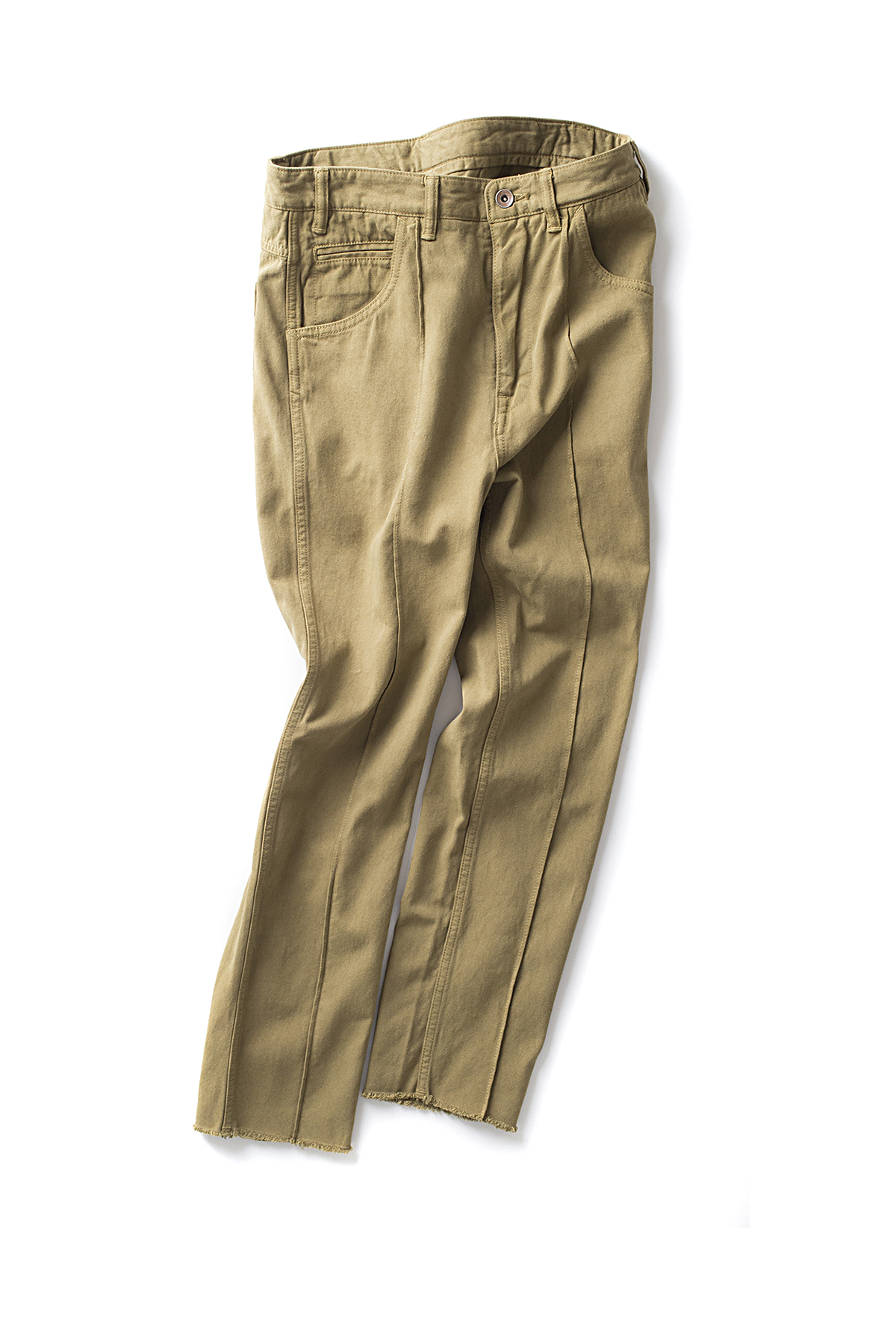bukht : Slim Tapered Chino Pants (LT.Khaki)