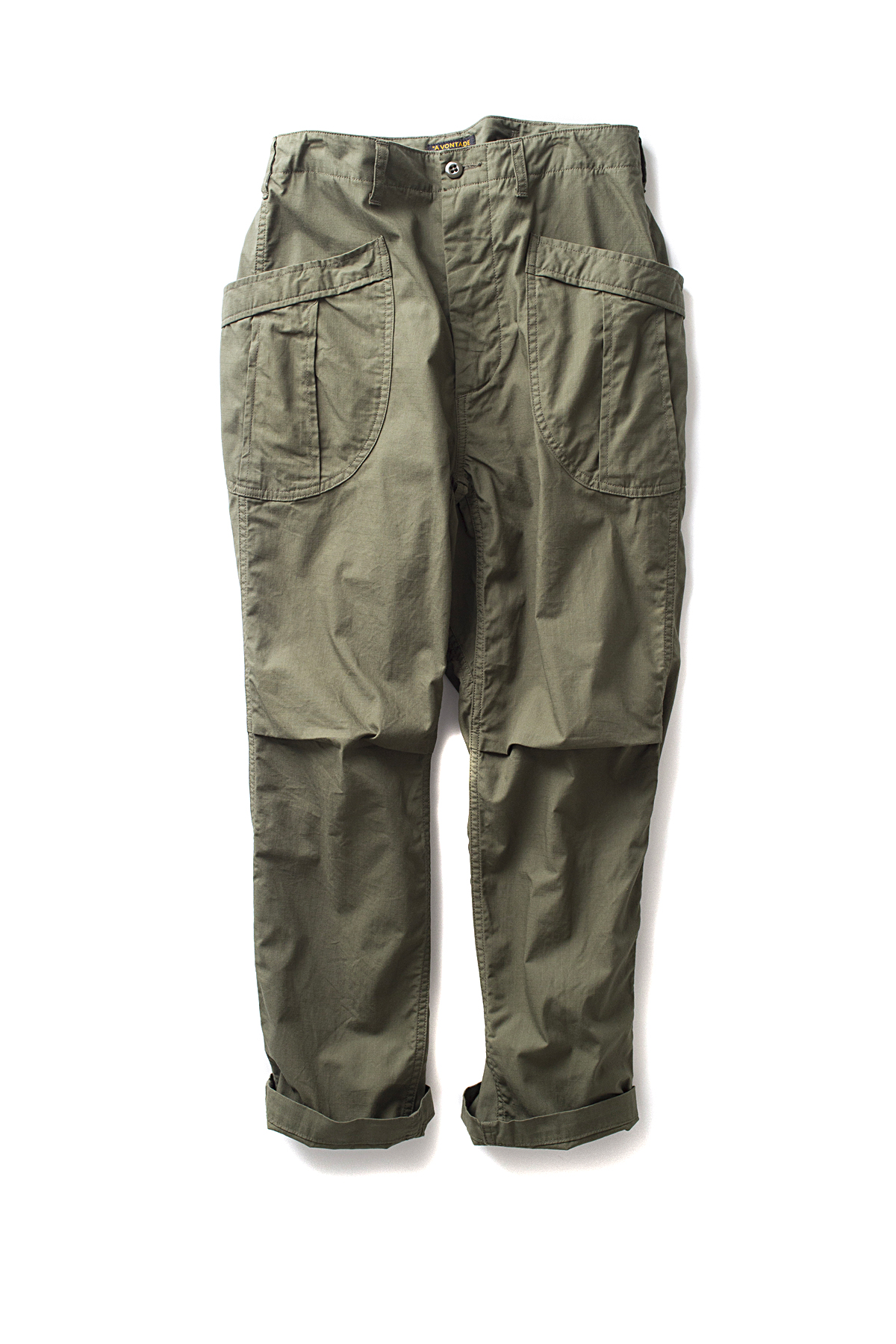 A vontade : Fatigue Trousers Ripstop (Olive)