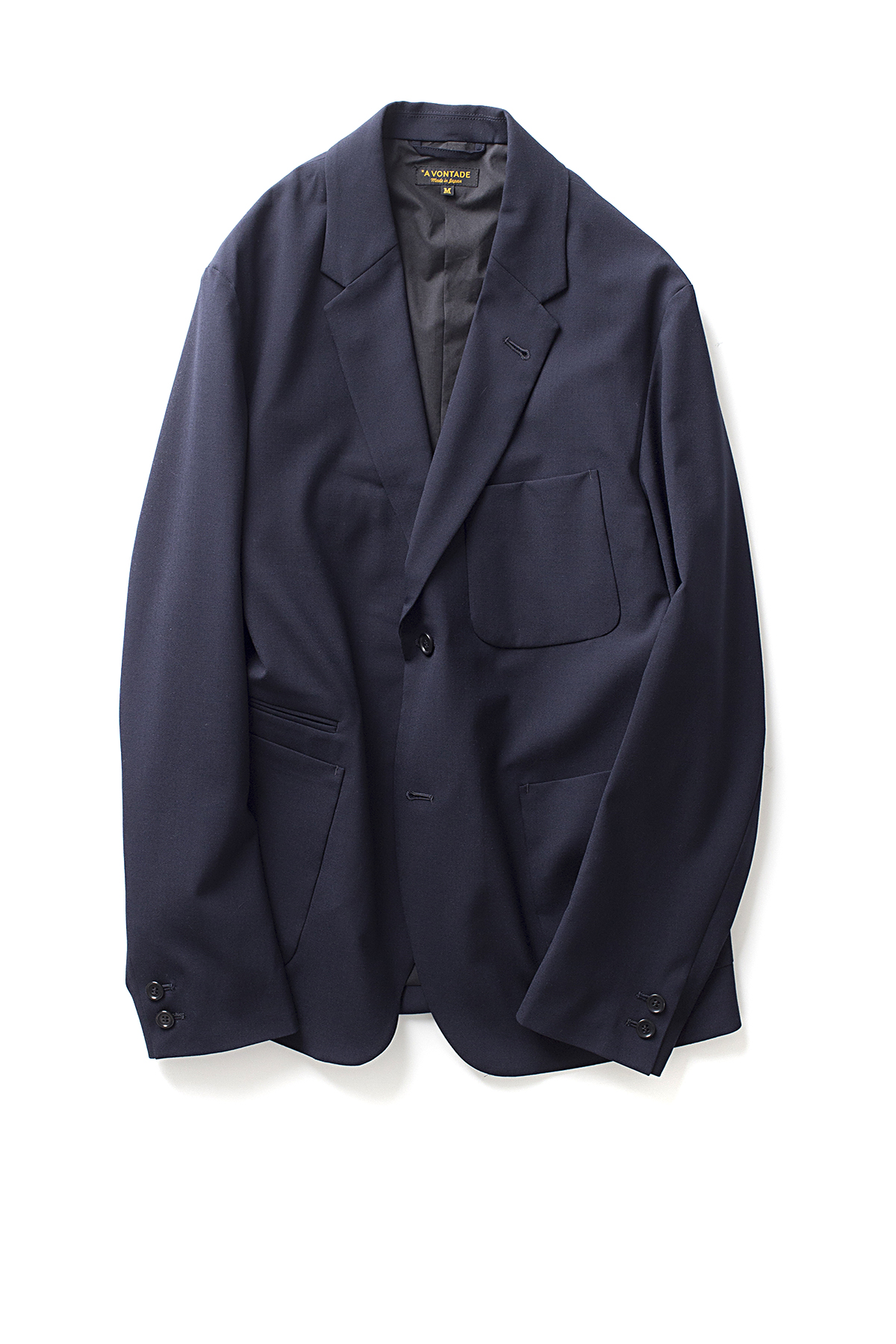 A vontade : Lounge Jacket (D.Navy)