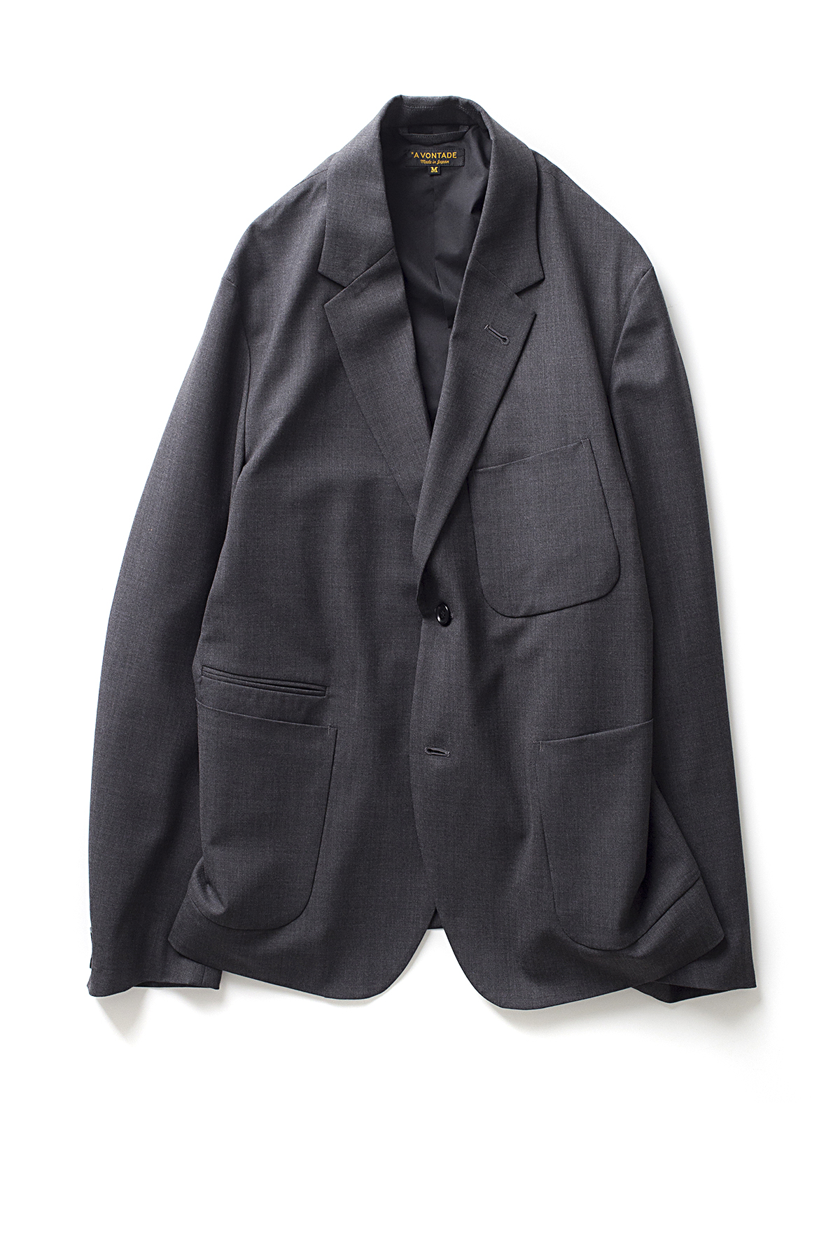 A vontade : Lounge Jacket (Charcoal)