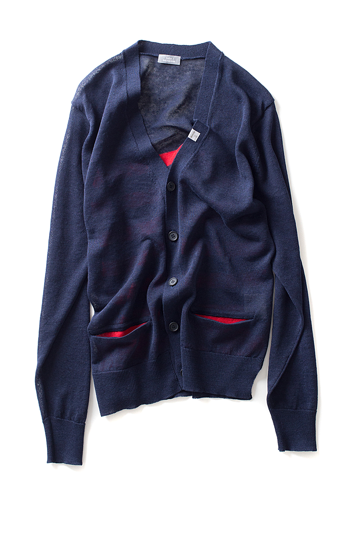 kolor / BEACON : 17SBM-N03333 (Navy)