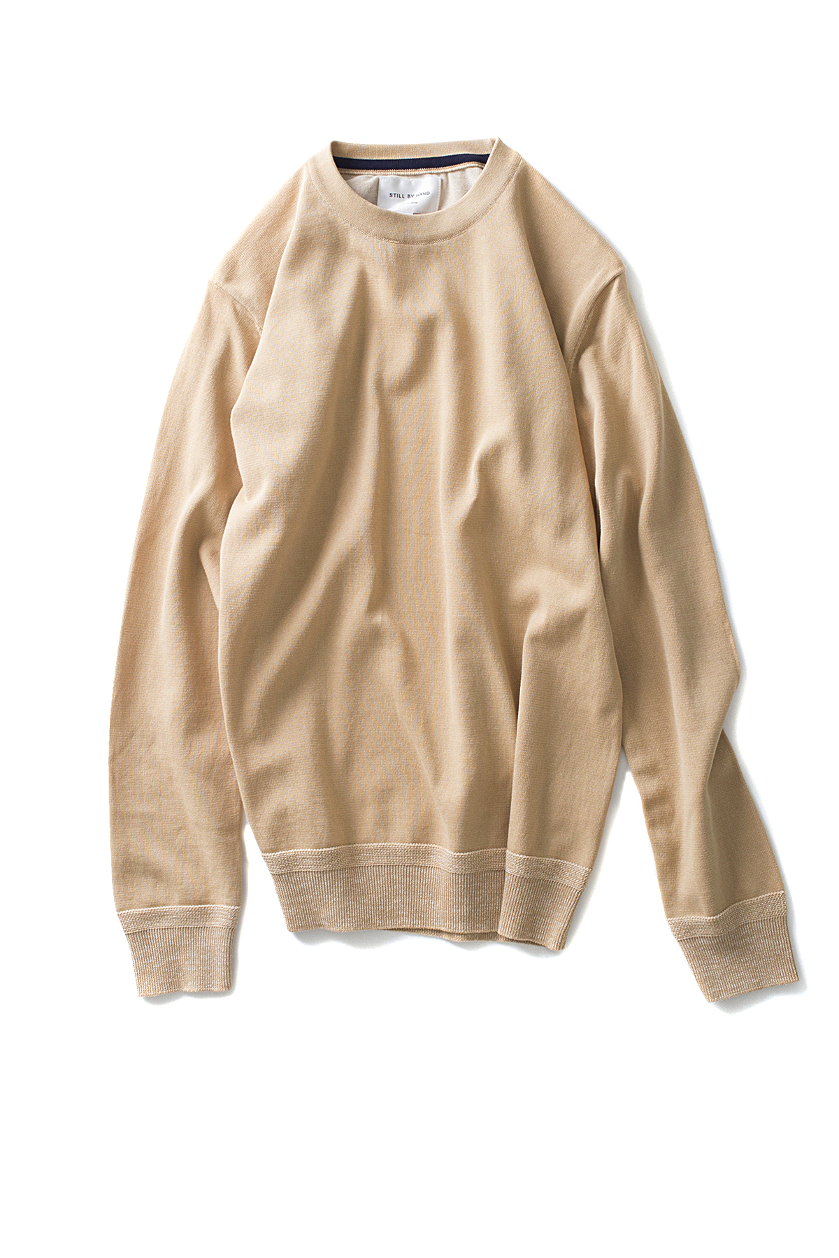 Still By Hand : Plating Stitch Knit (Beige)