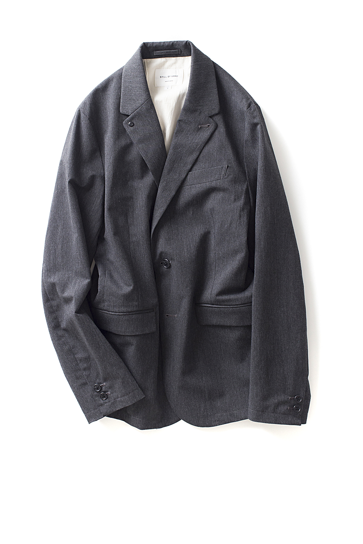 Still By Hand : Urethane Inner Coating Jacket (Grey)