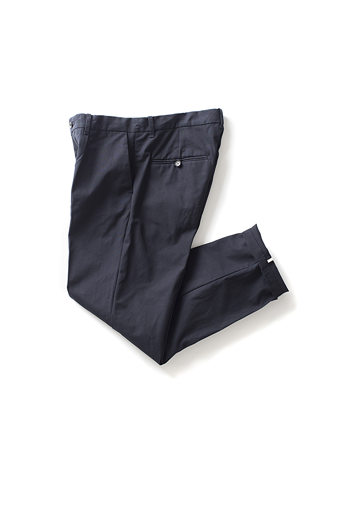 Still By Hand : Hard Canvas Pants (Navy)