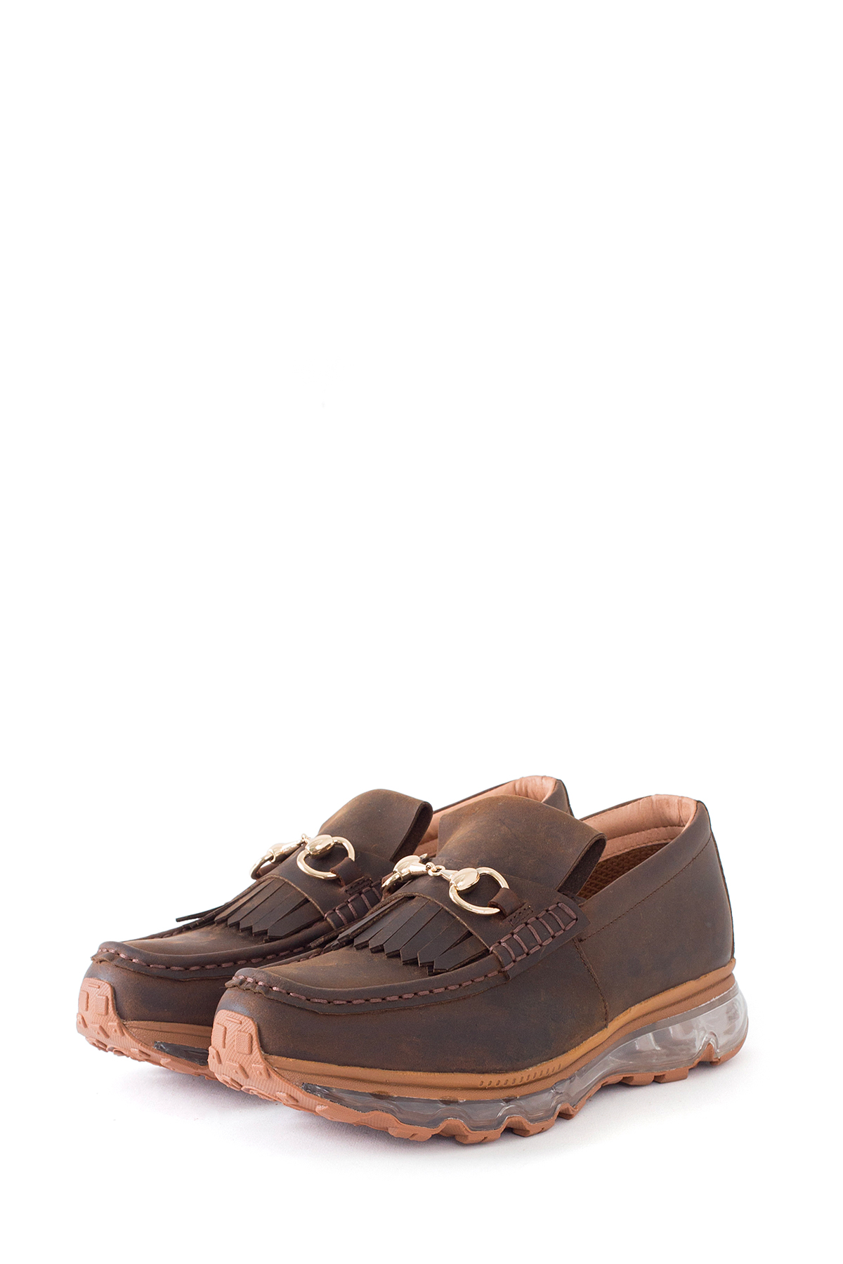 Tomo & Co. : Loafer Trainer (Brown)