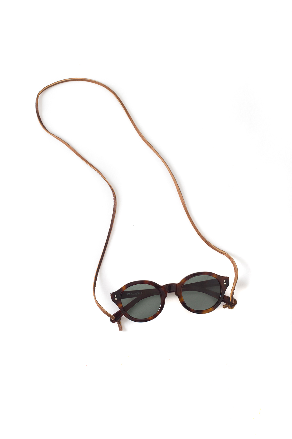 soe : Sunglasses With Leather Holder (Brown)