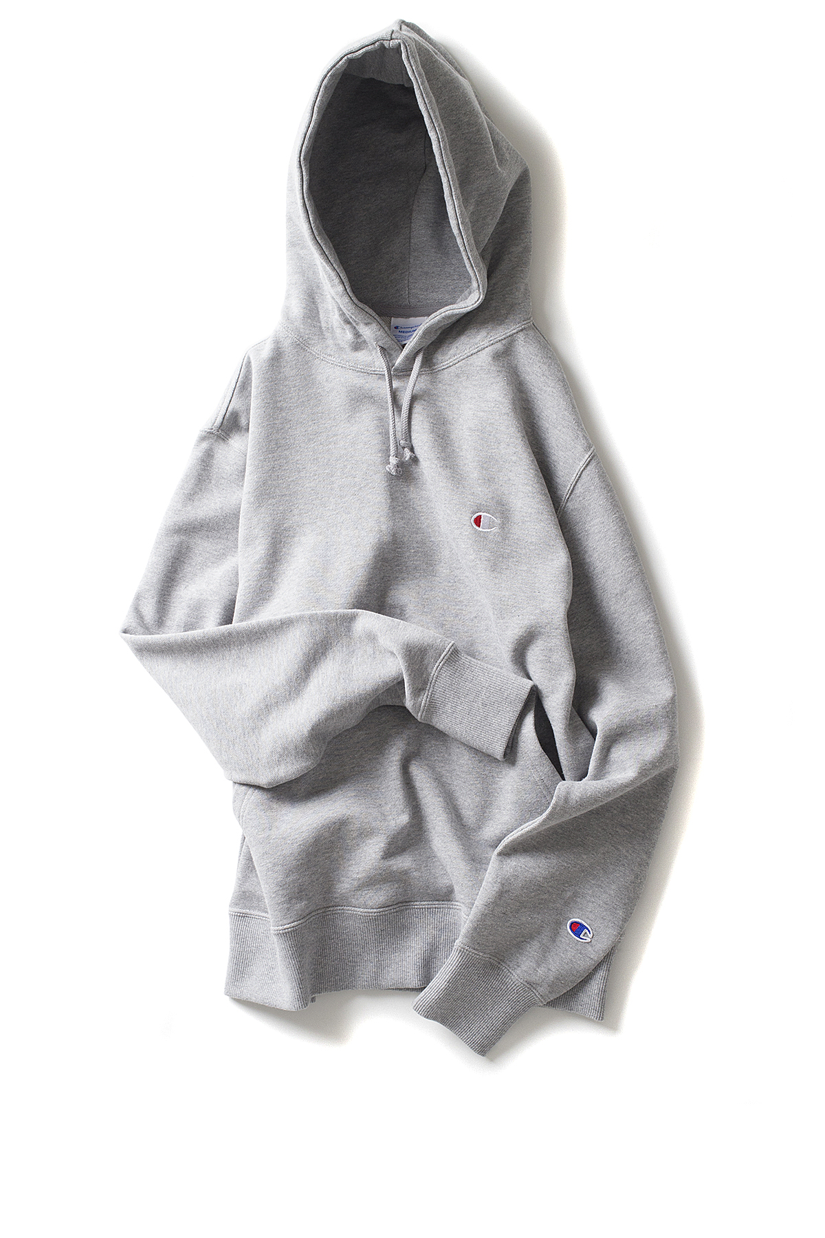 Champion : Basic Pullover Sweatshirt (Oxford Gray)