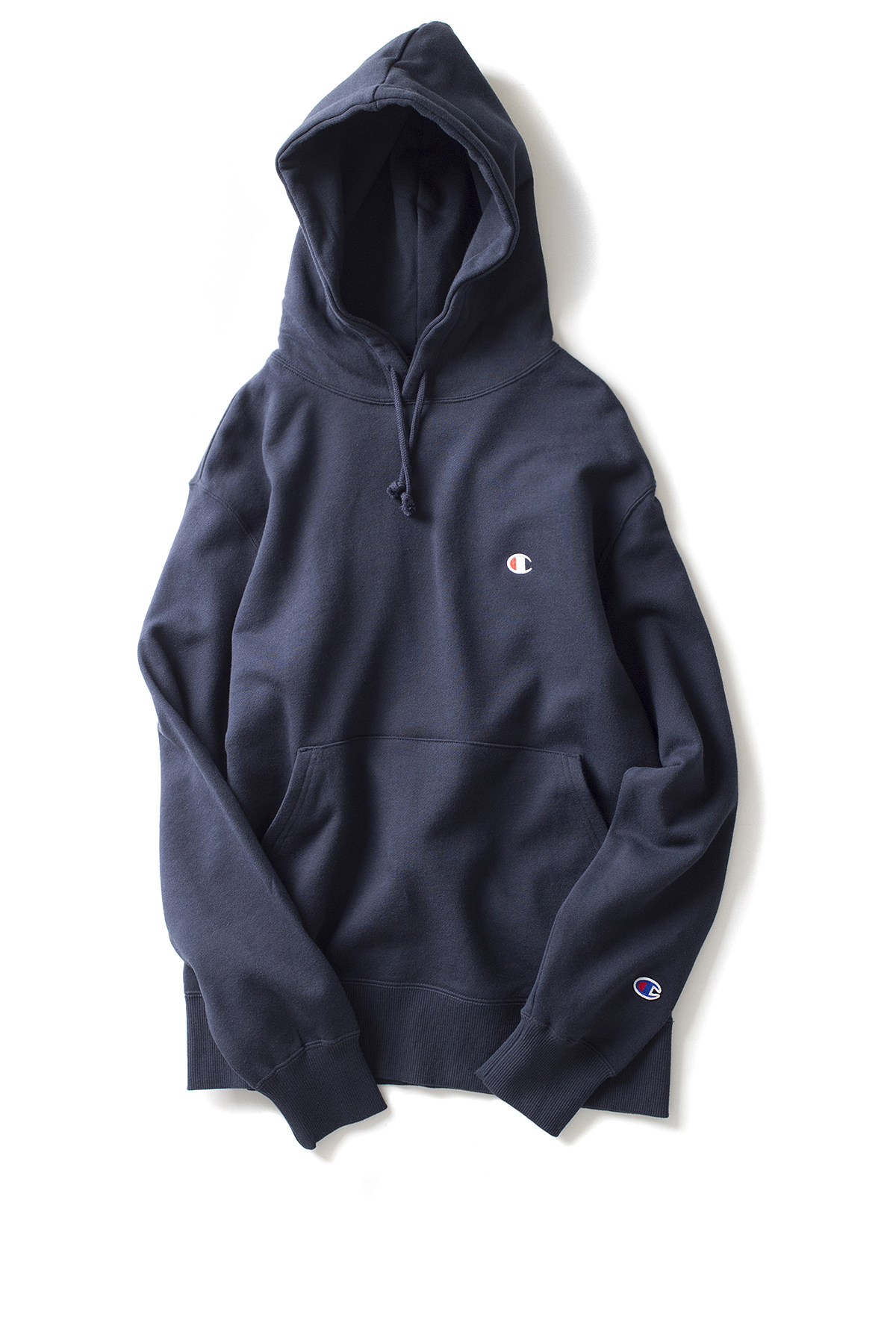 Champion : Basic Pullover Sweatshirt (Navy)