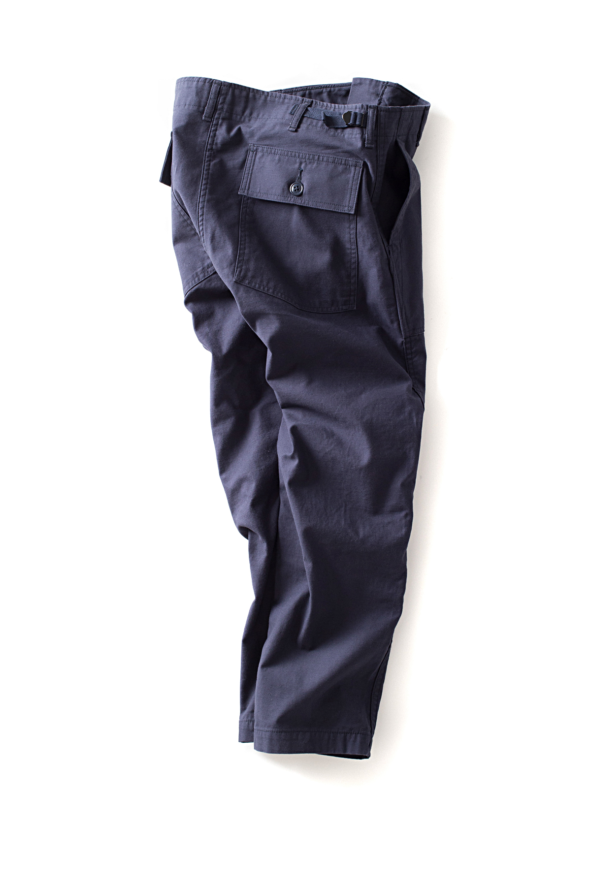 ordinary fits : New Bare Foot Fatigue Pants (Navy)