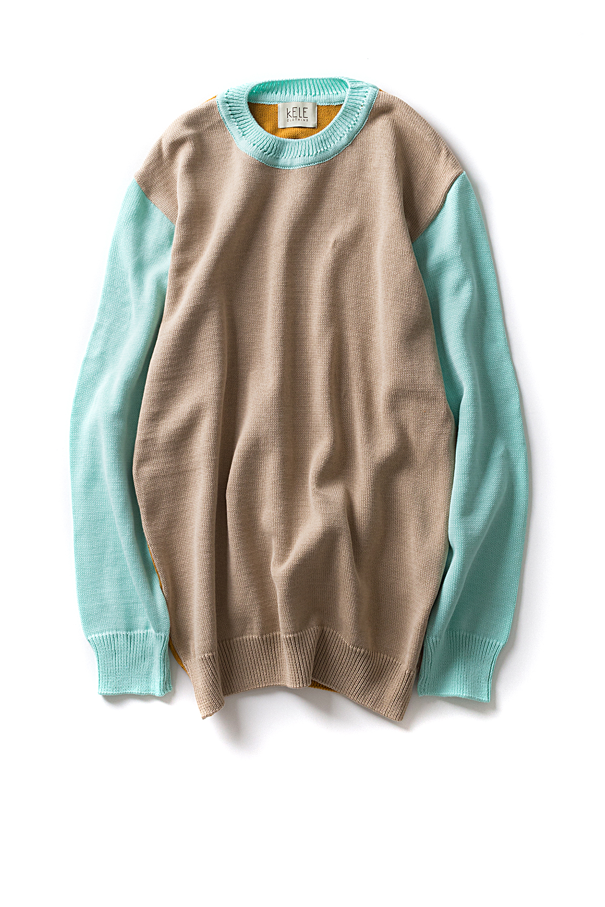 KELE Clothing : BASIC (Beige / Gold / Mint)
