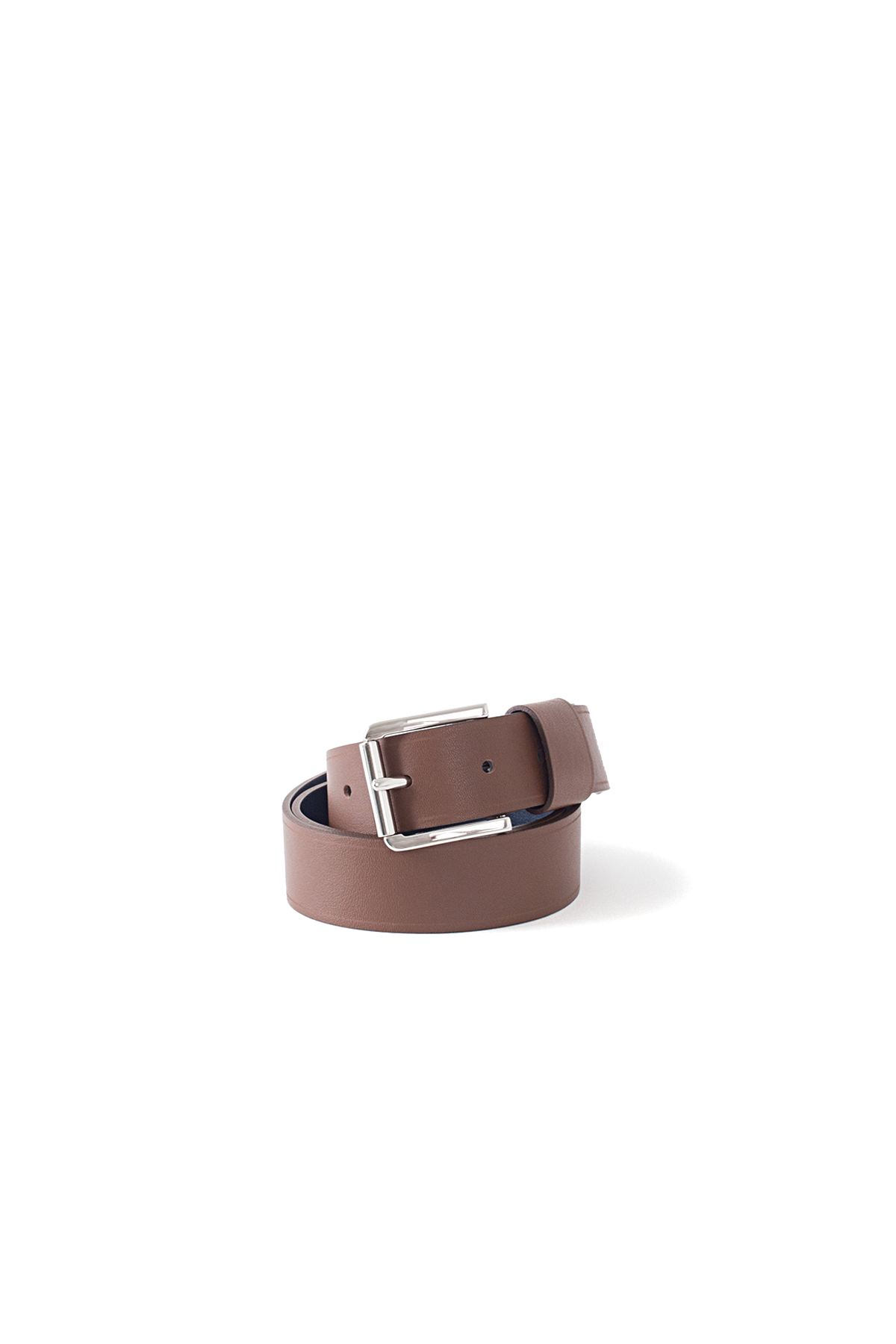 Sofie D'Hoore : Verdict 30 Bi Color Leather Belt (Cocoa/Night)