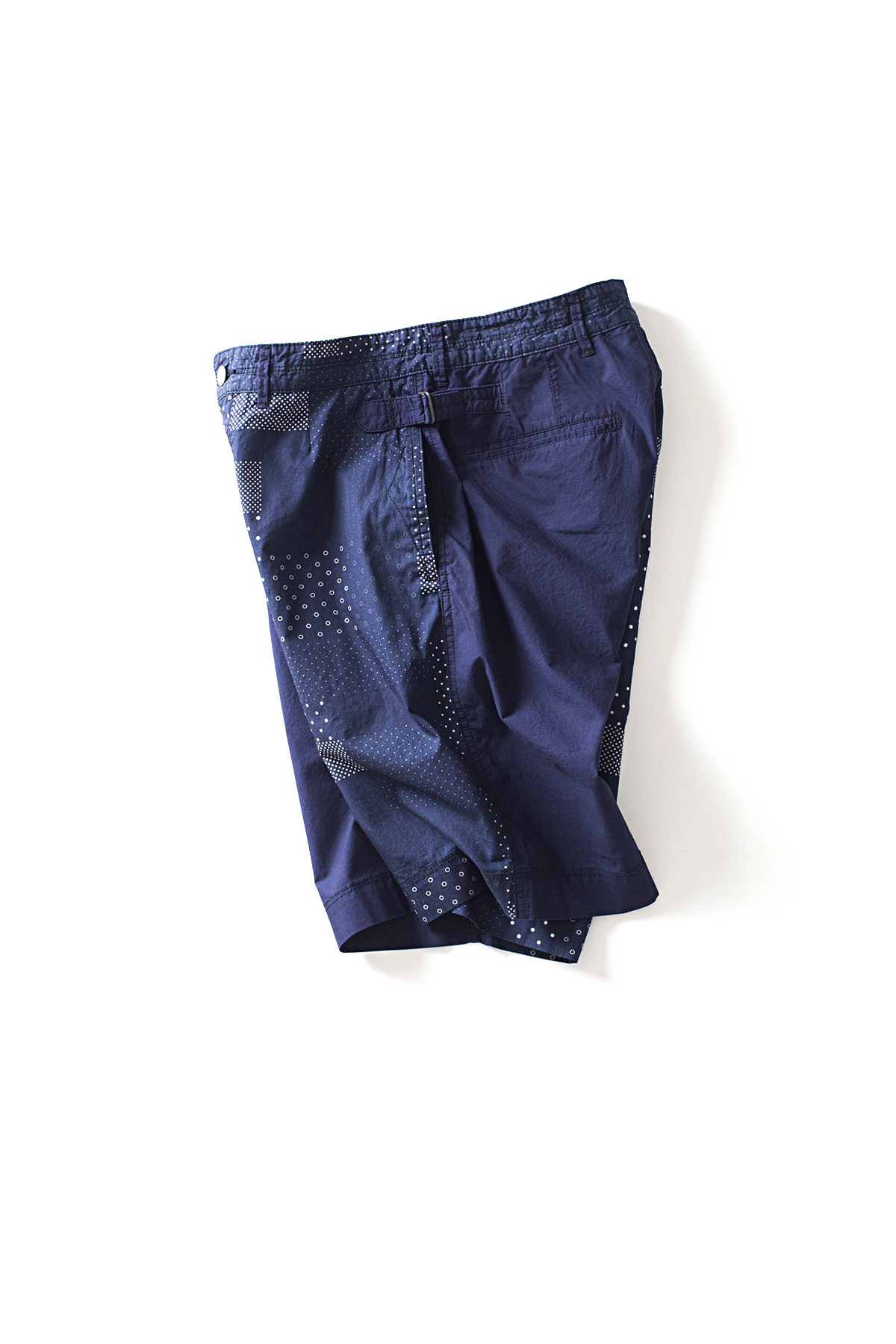 Eastlogue : Officer Shorts (Mixed Dot)