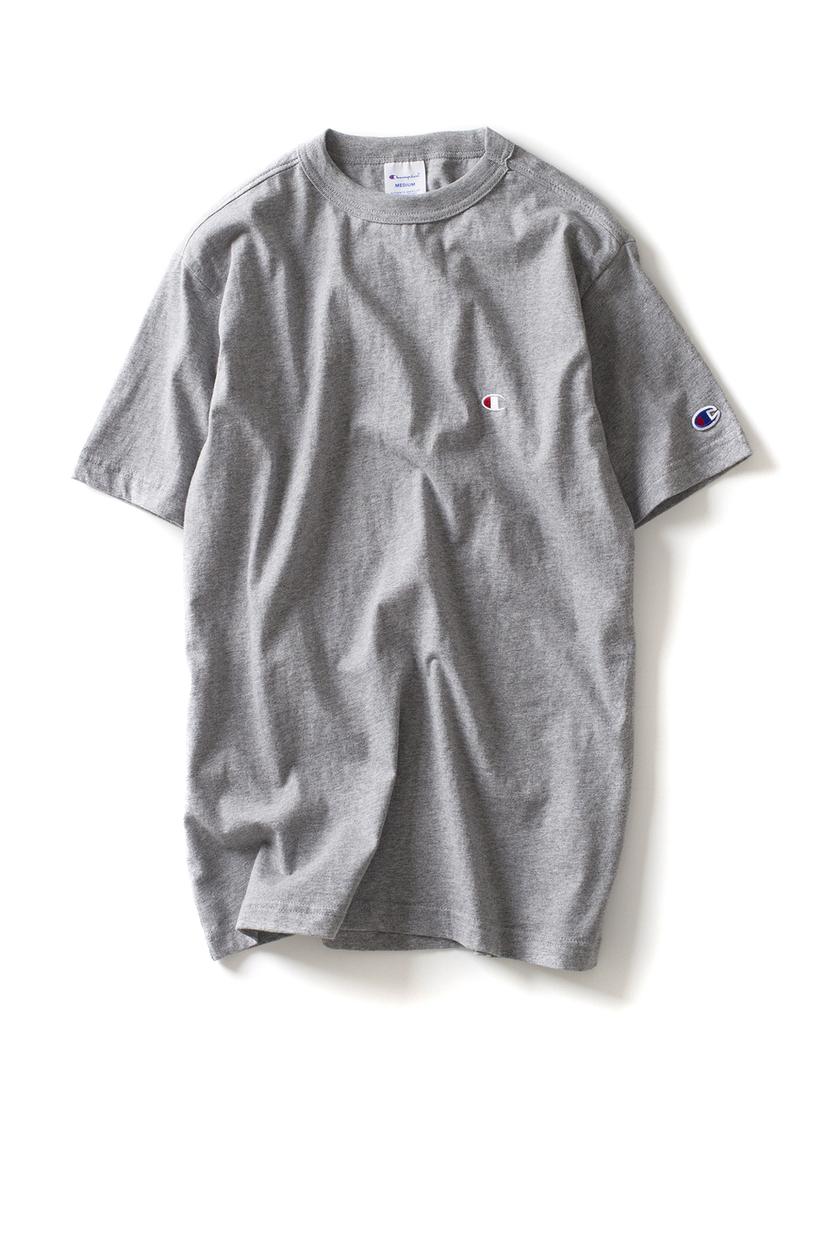 Champion : Basic T-Shirt (Grey)