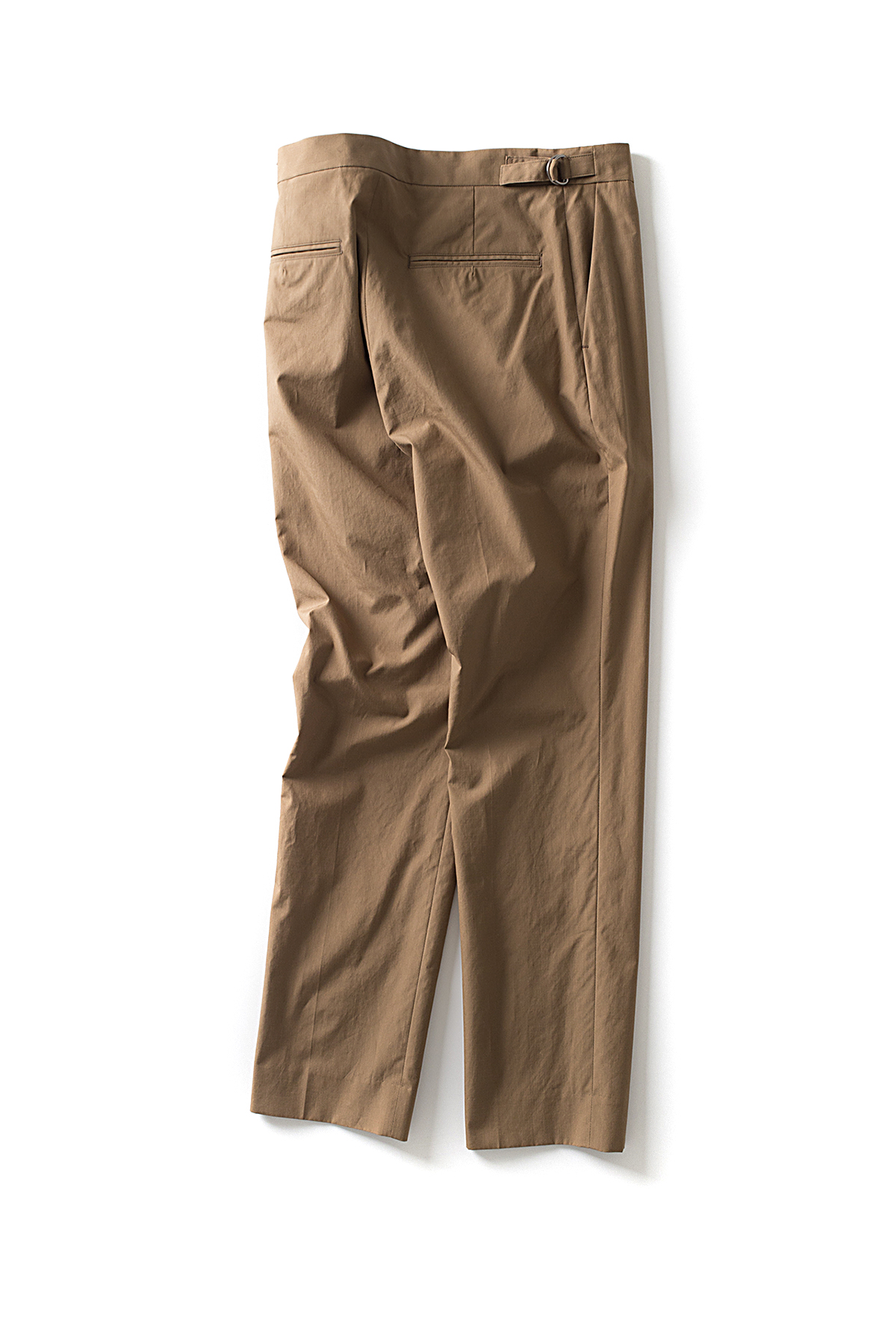 Auralee : Washed Finx Ripstop Slacks (Brown)