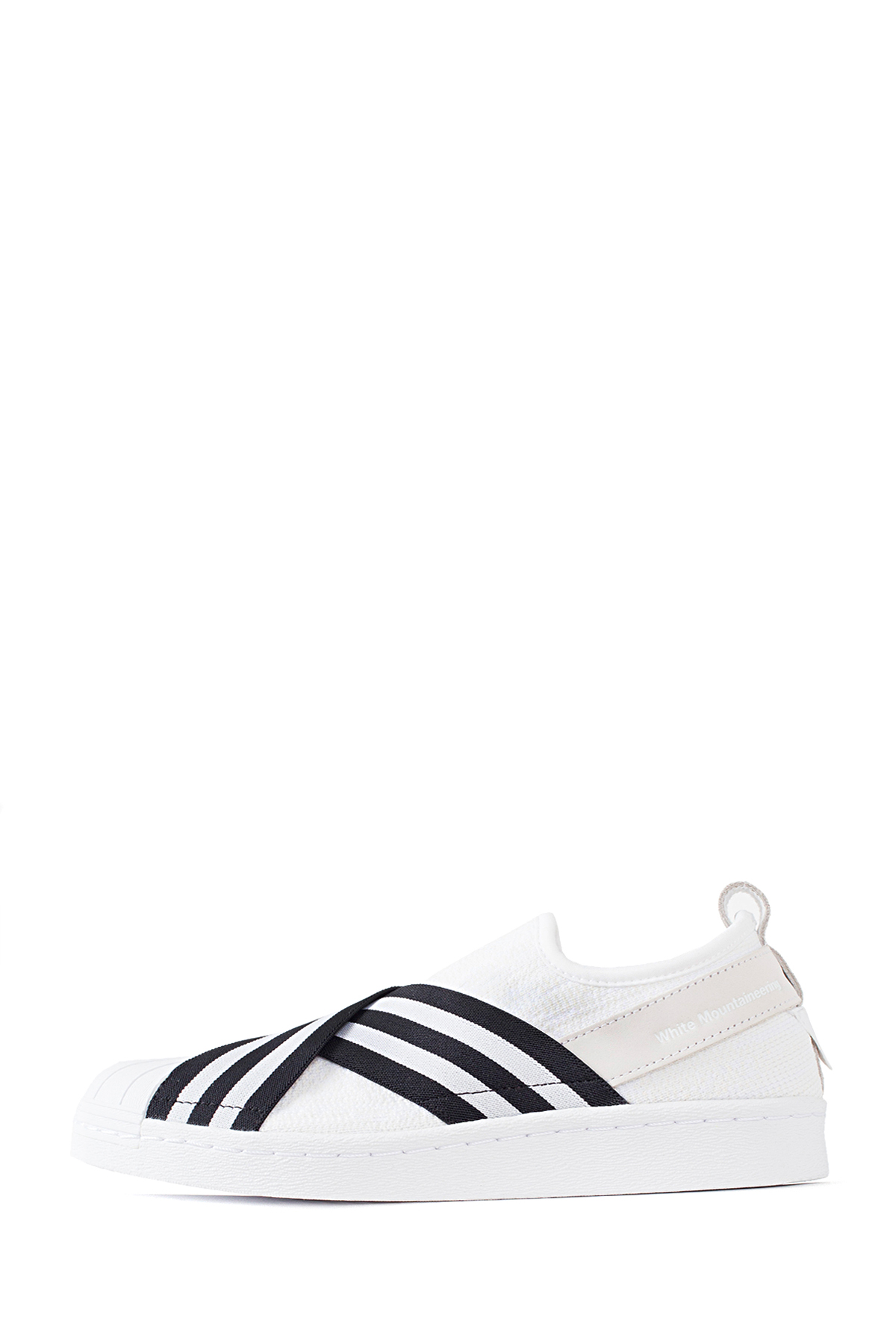 WM x adidas Originals : SUPERSTAR SLIP-ON (White)
