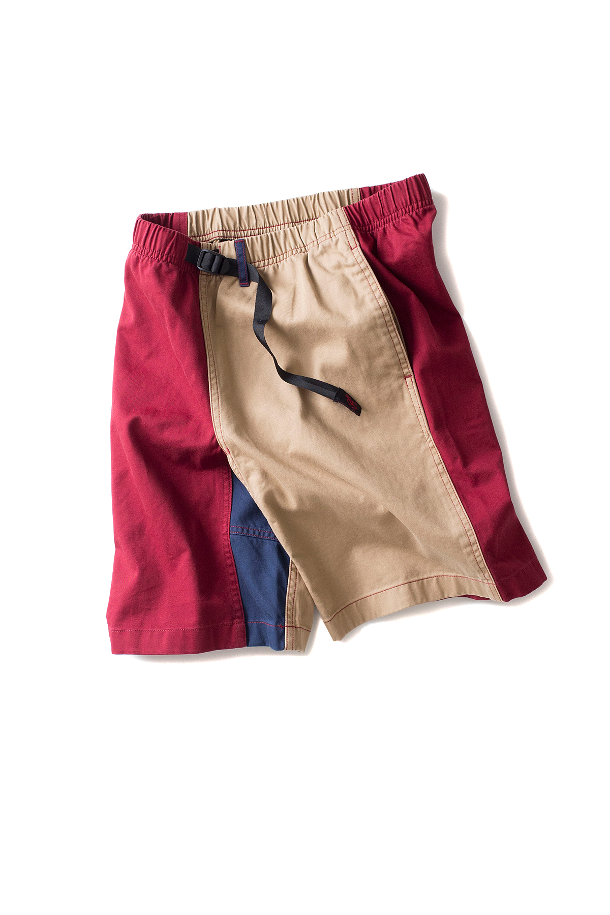 Gramicci : Crazy G-Shorts (Wine x Khak)