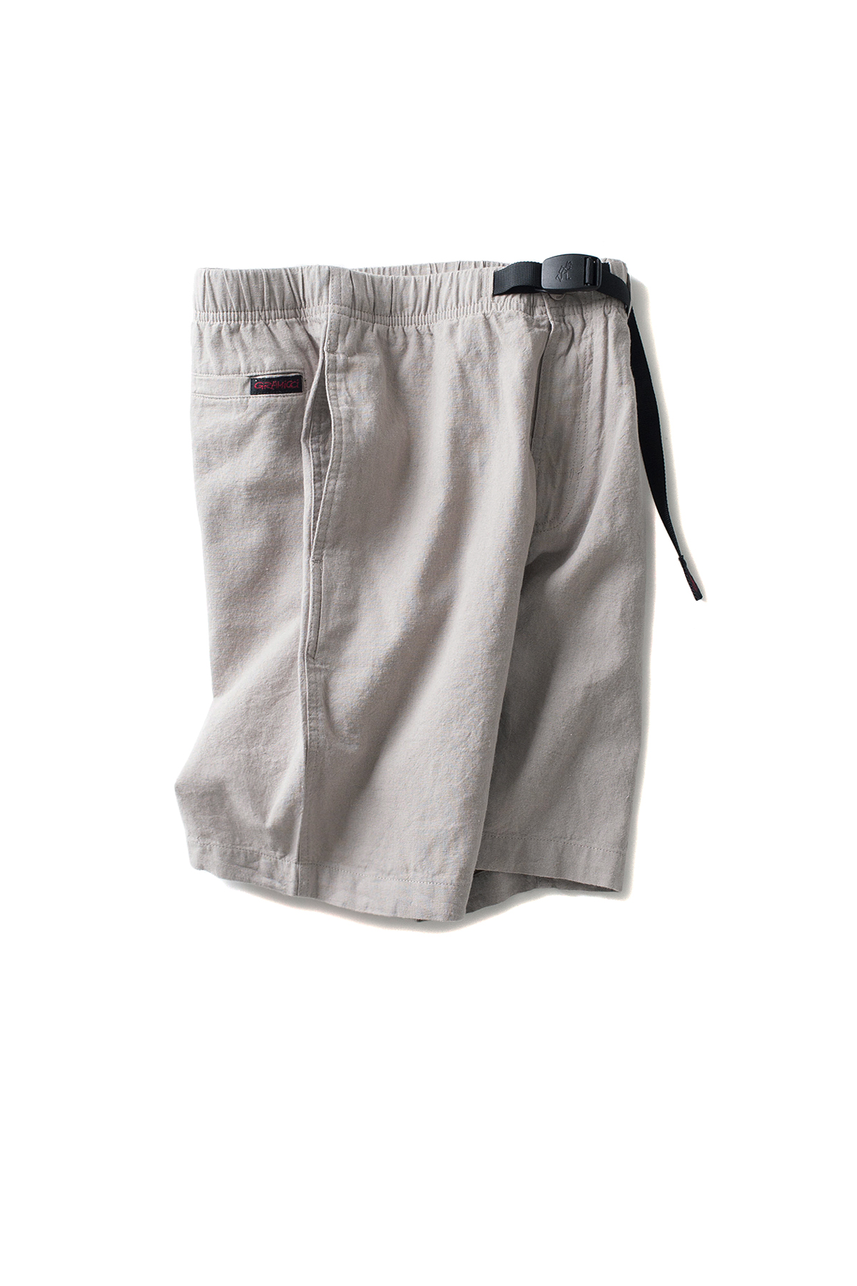 Gramicci : Cotton-Linen Zipper Shorts (Grege)