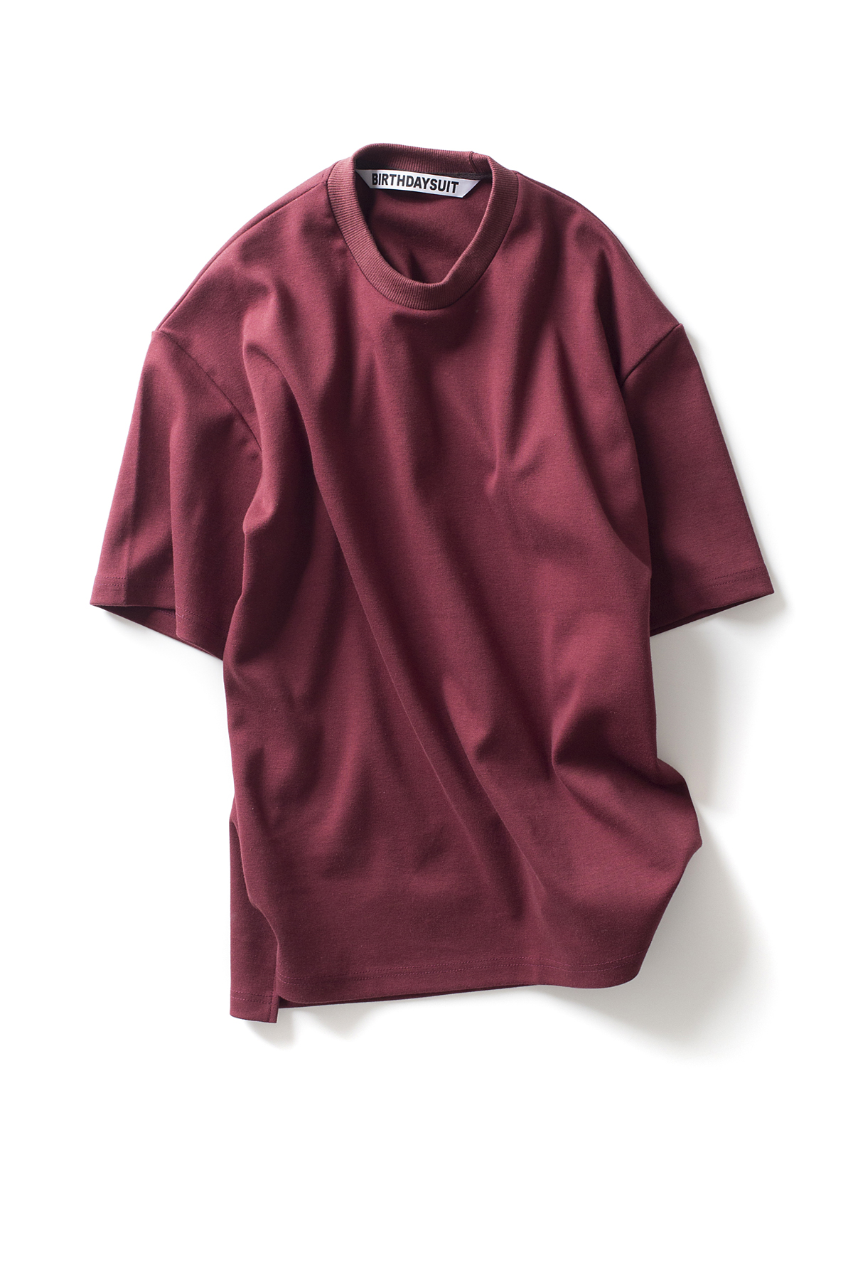 BIRTHDAYSUIT : Oversized T-Shirts (Burgundy)