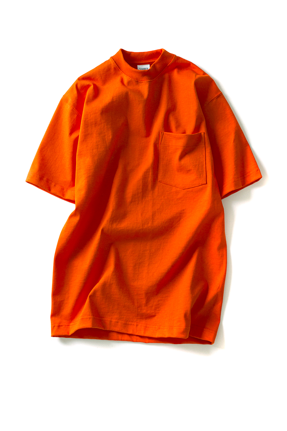 CAMBER : Heavy Weight 8oz S/S Pocket T-Shirts (Orange)