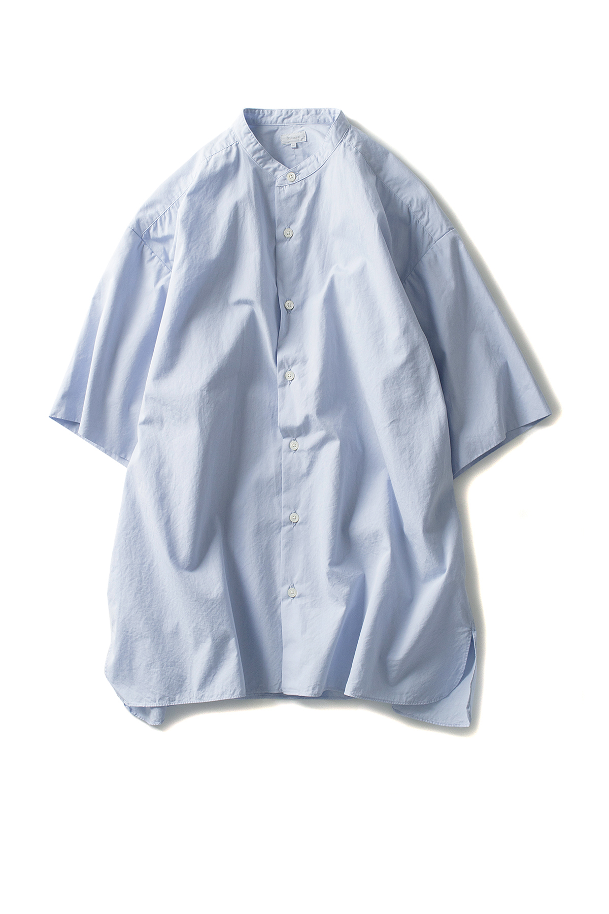 Phlannel : Super Fine Poplin Roomy Shirts (Light Blue)