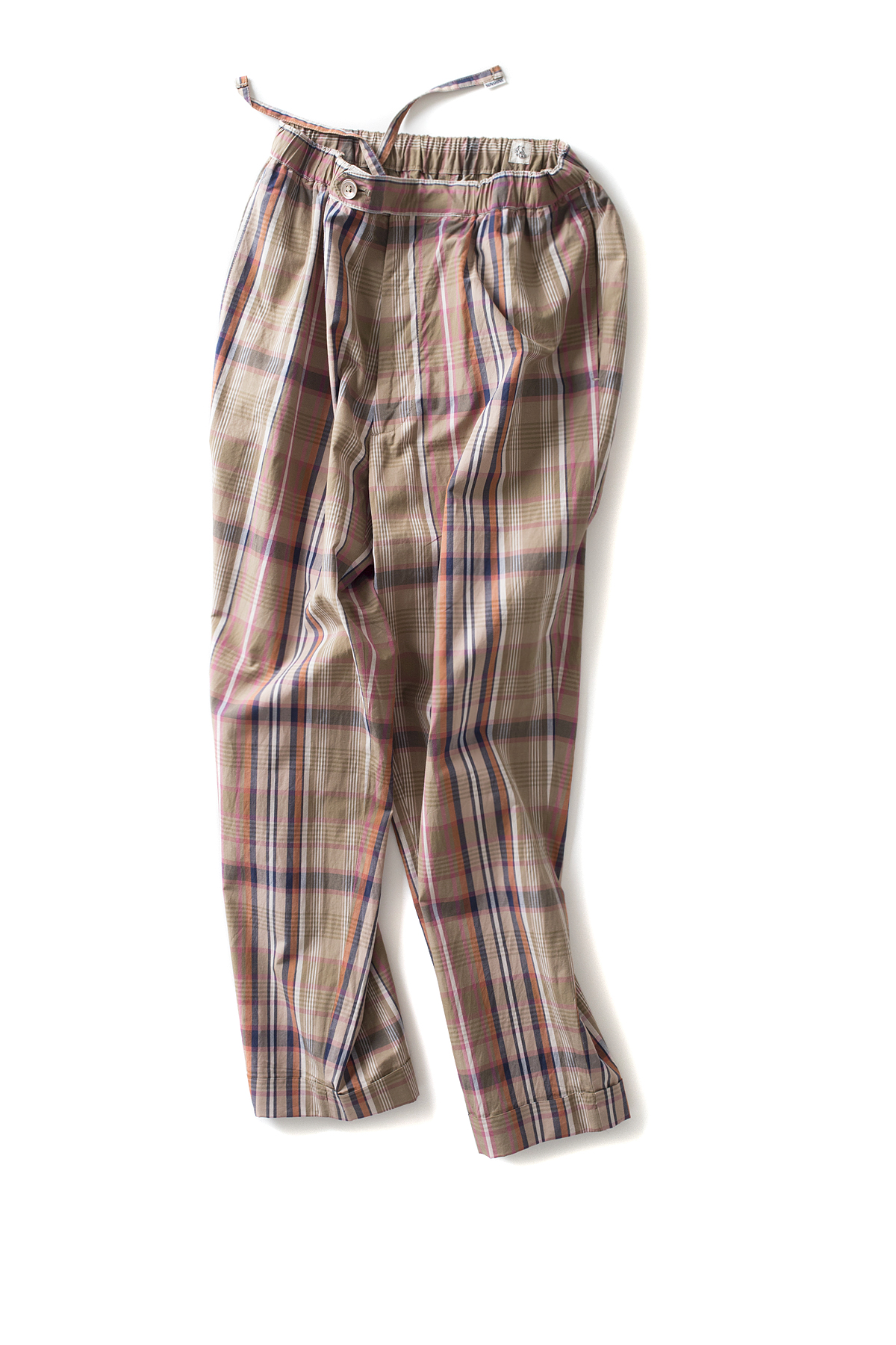 Kaptain Sunshine : Traveller Trousers (Multicolored Check)