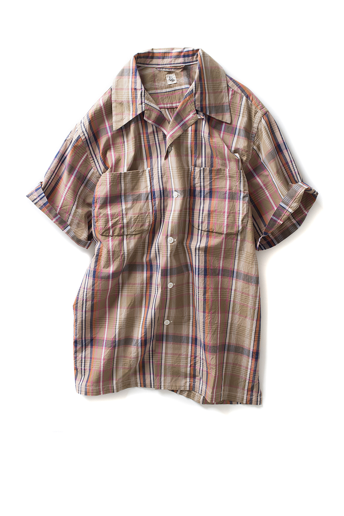 Kaptain Sunshine : Vacation Shirt (Multicolored Check)