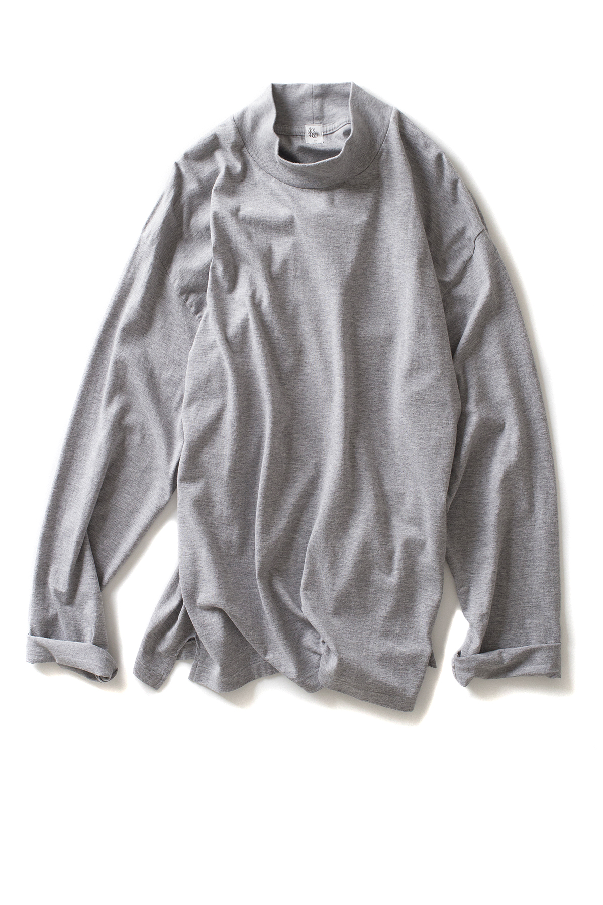 Kaptain Sunshine : Navy Yard Long Sleeve Tee (Heather Gray)