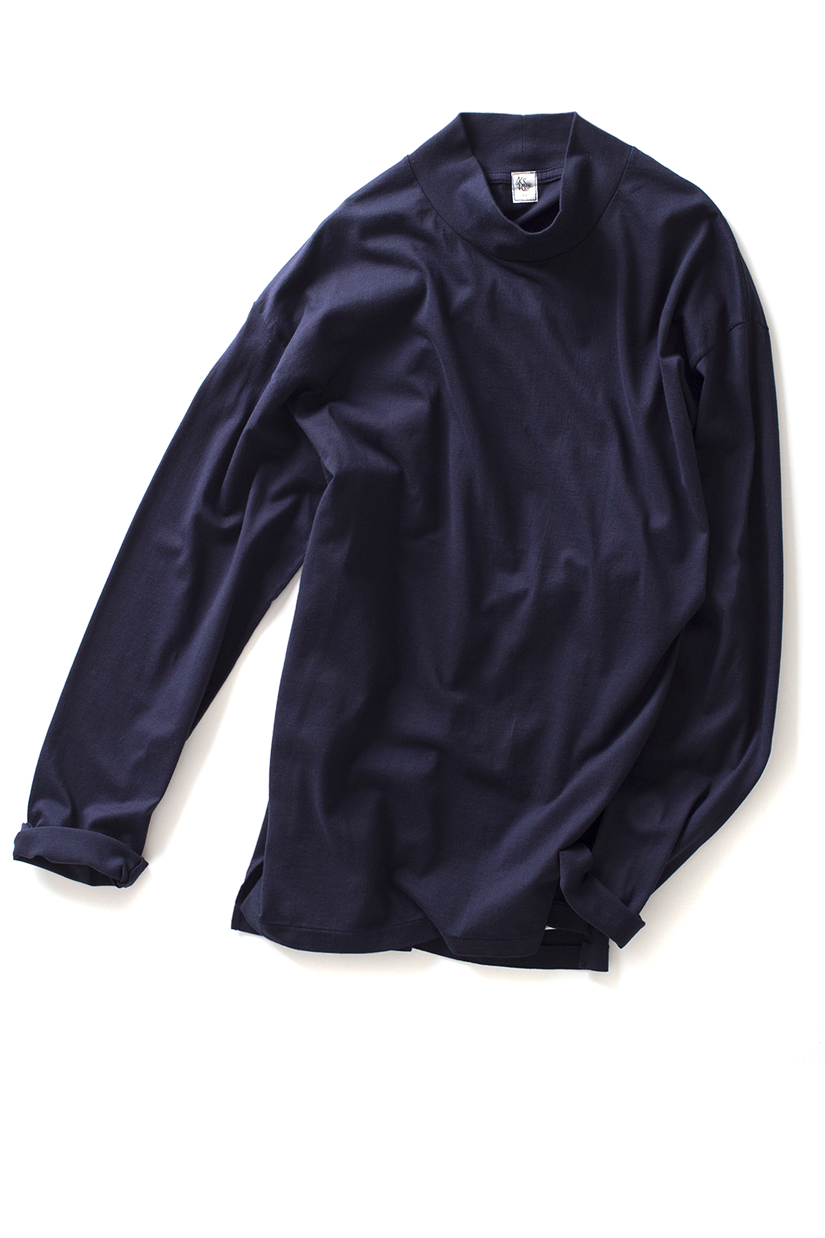 Kaptain Sunshine : Navy Yard Long Sleeve Tee (Navy)