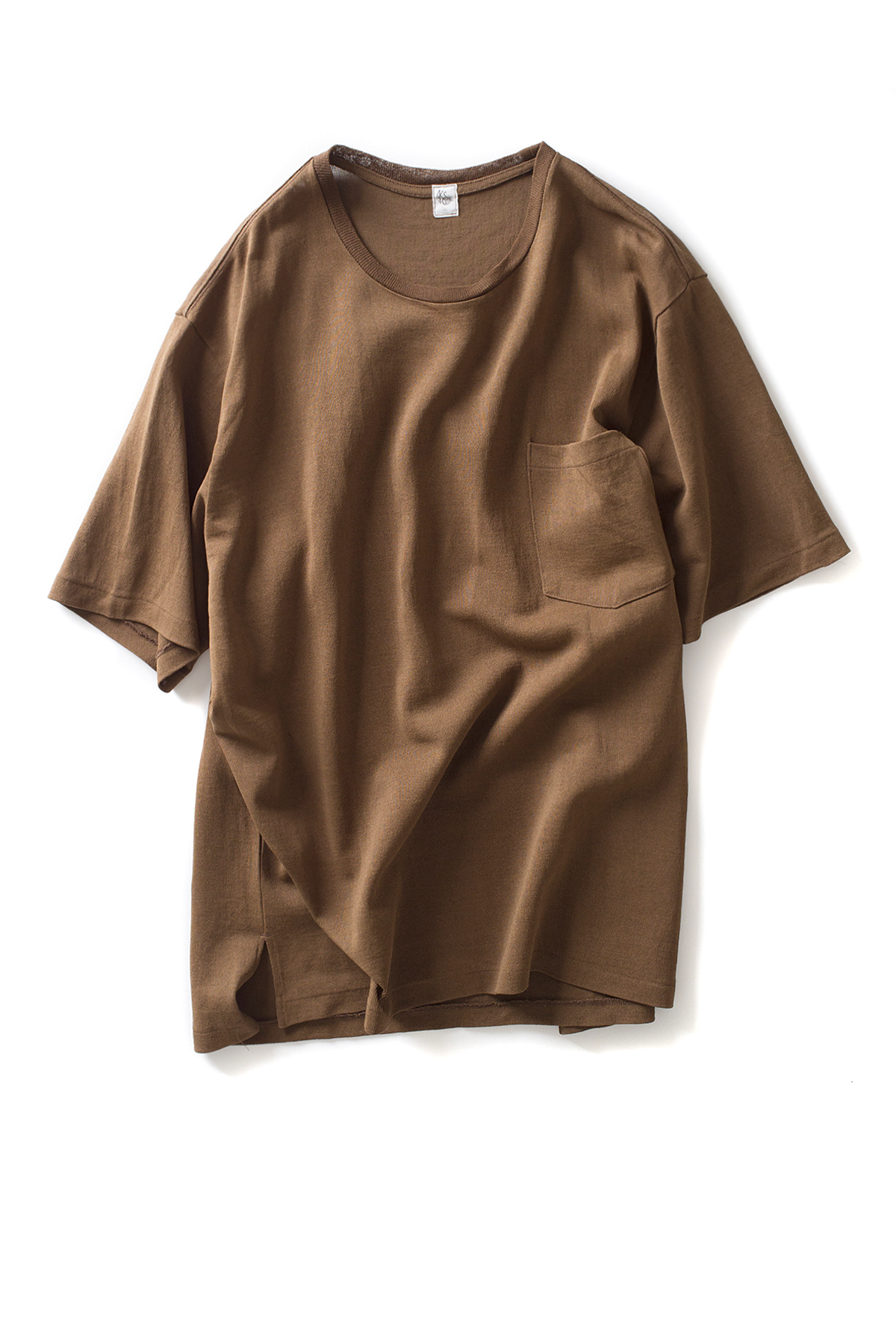 Kaptain Sunshine : Pocket Tee (Brown)