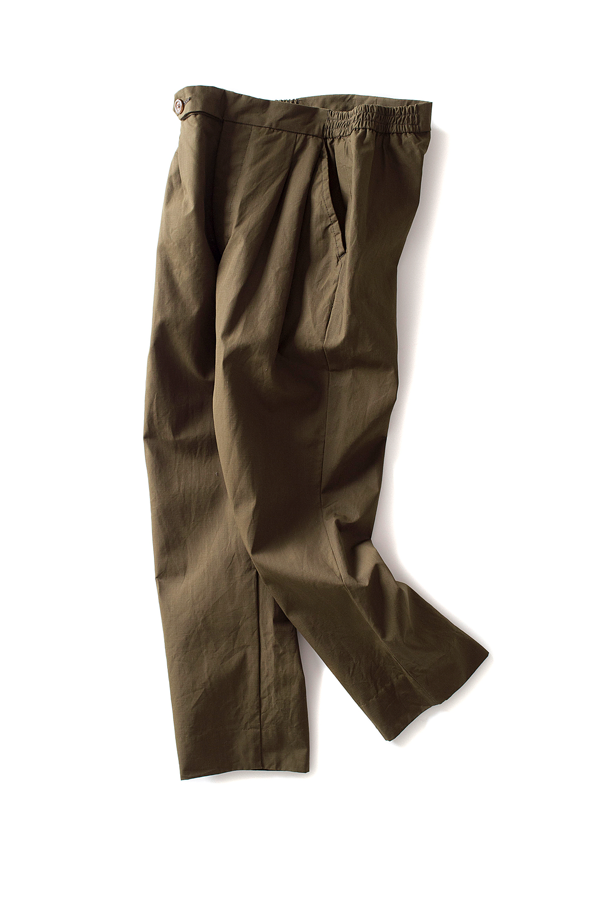 ohh! nisica : Ripstop Easy Pants (Olive)