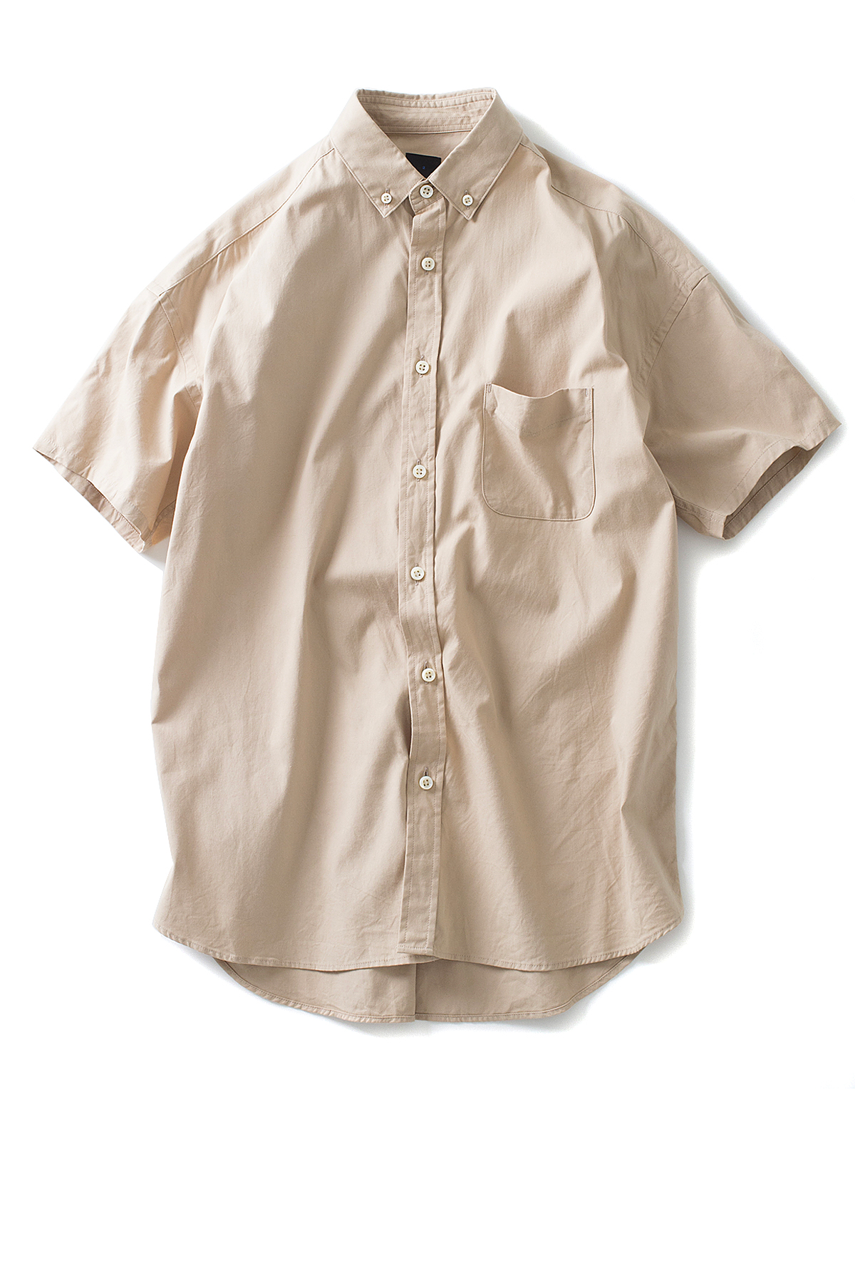 maillot : Soft OX Relax S/S BD Shirt (Beige)