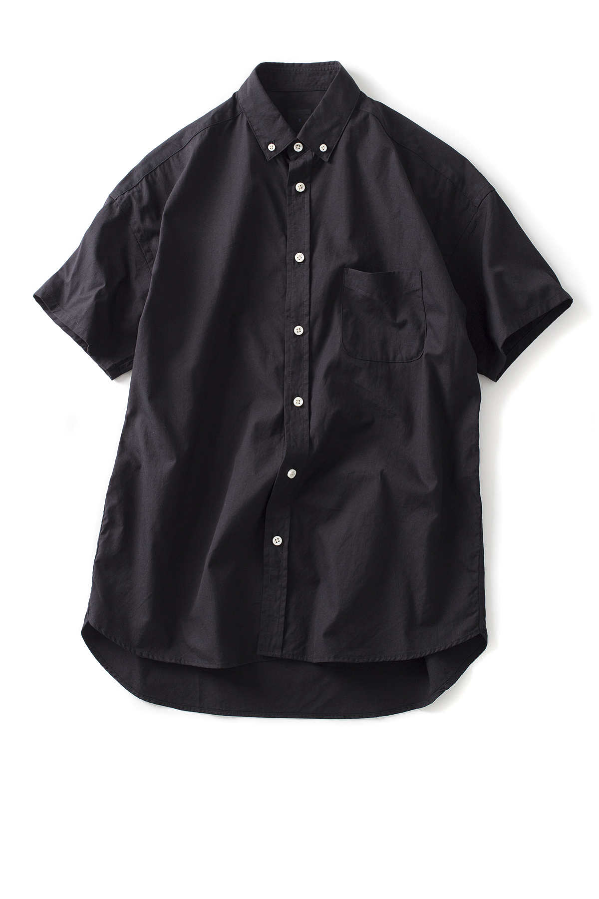 maillot : Soft OX Relax S/S BD Shirt (Black)