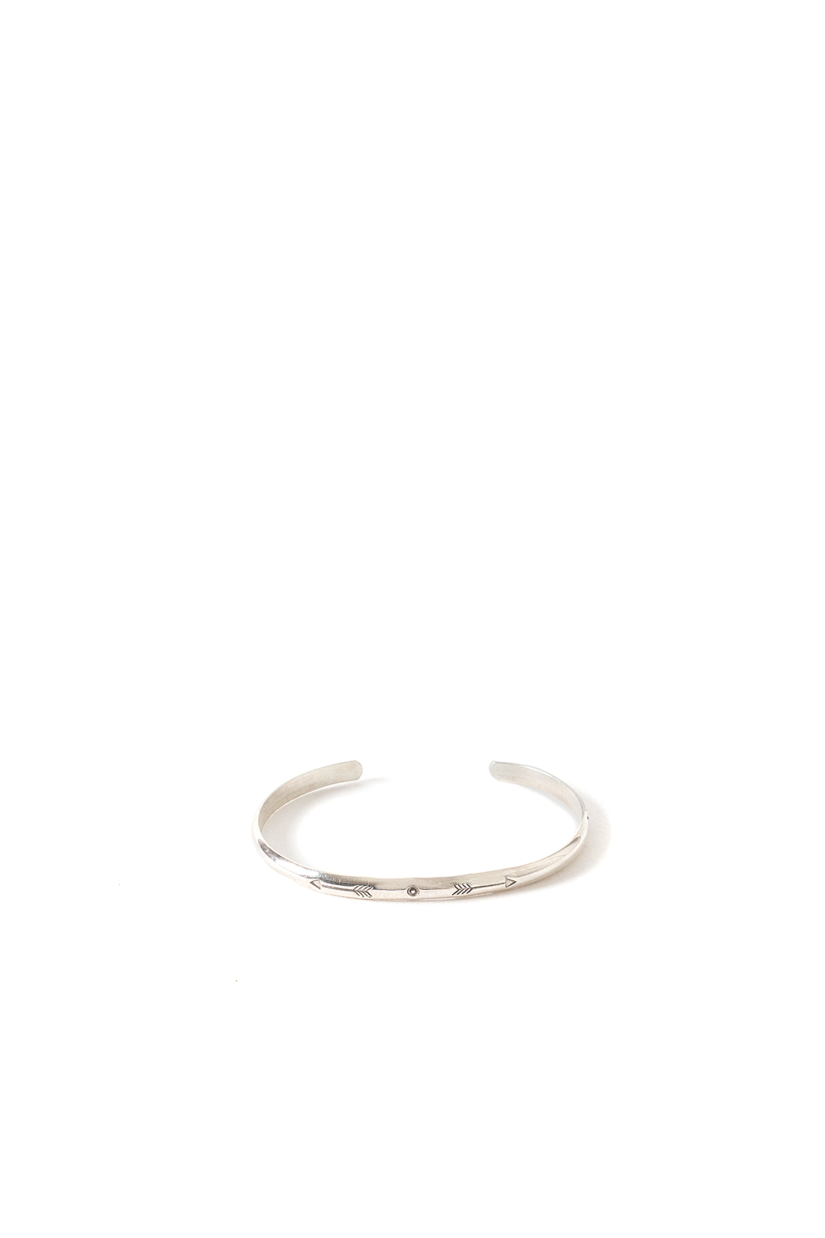 North Works : 900 Silver Arrow Stamp Bangle