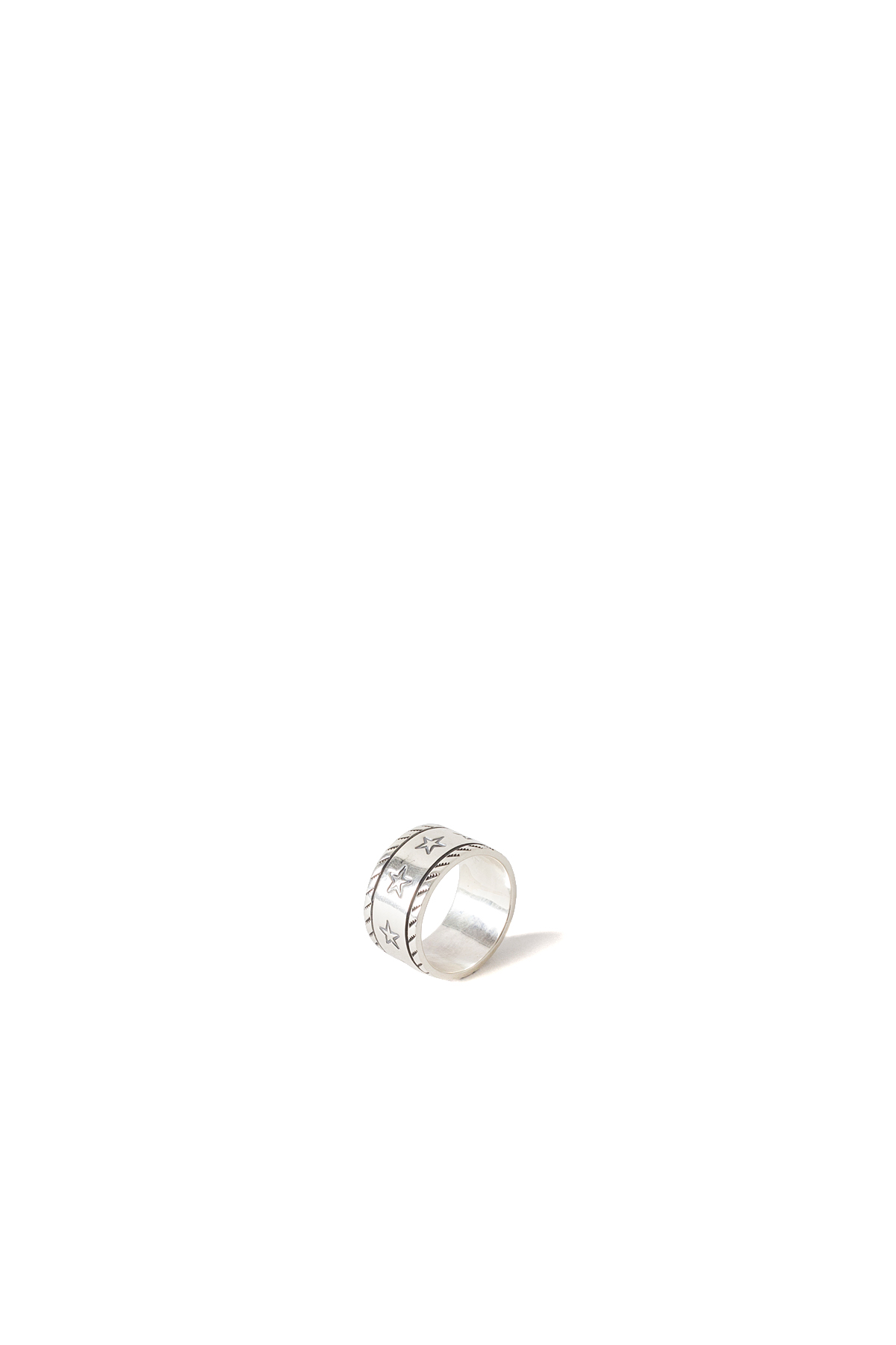 North Works : 900 Silver Stamp Ring (W-053)