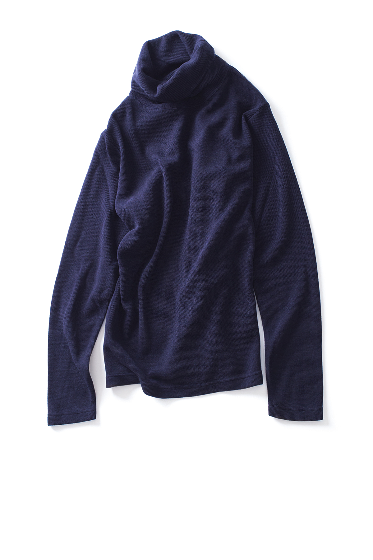 WHITE MOUNTAINEERING : Turtle Neck Pullover (Navy)