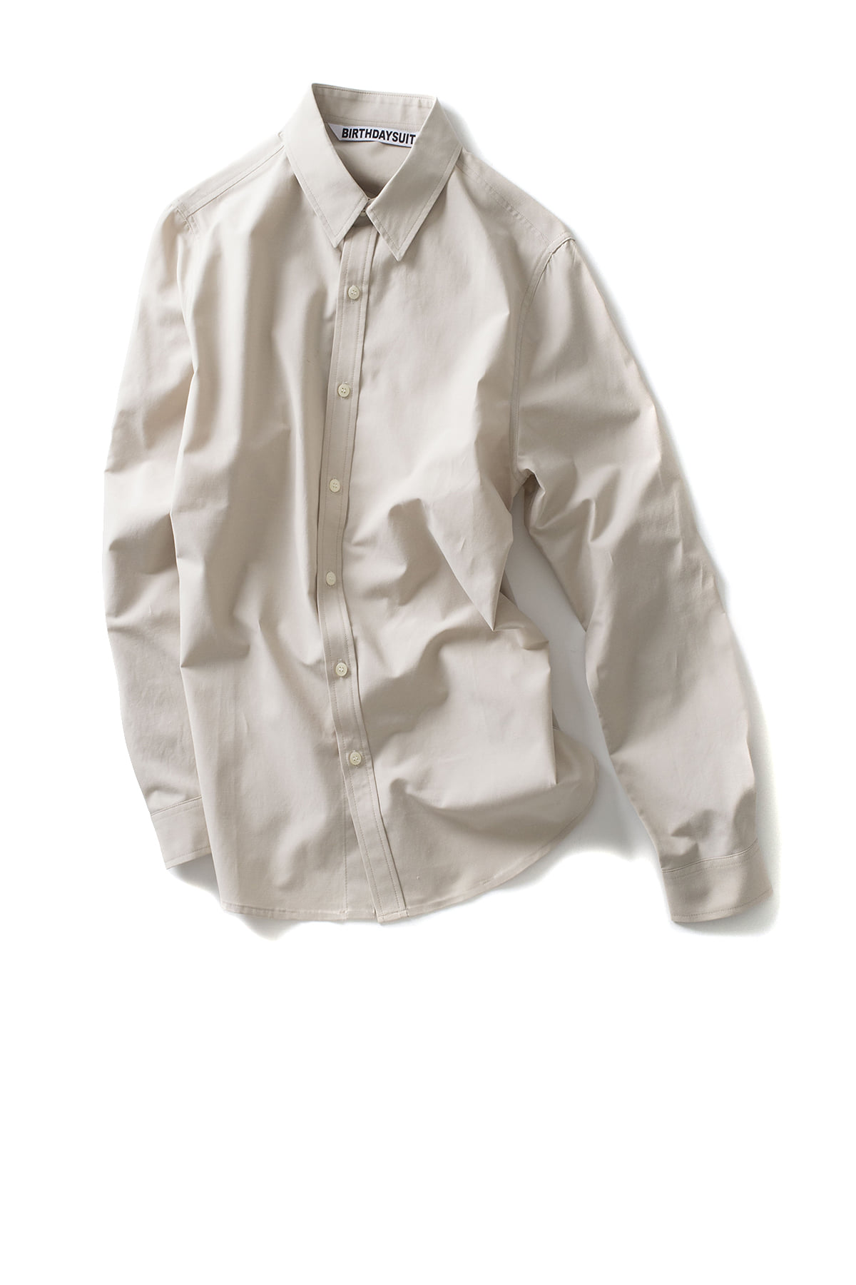 BIRTHDAYSUIT : Basic Shirt (Ivory)