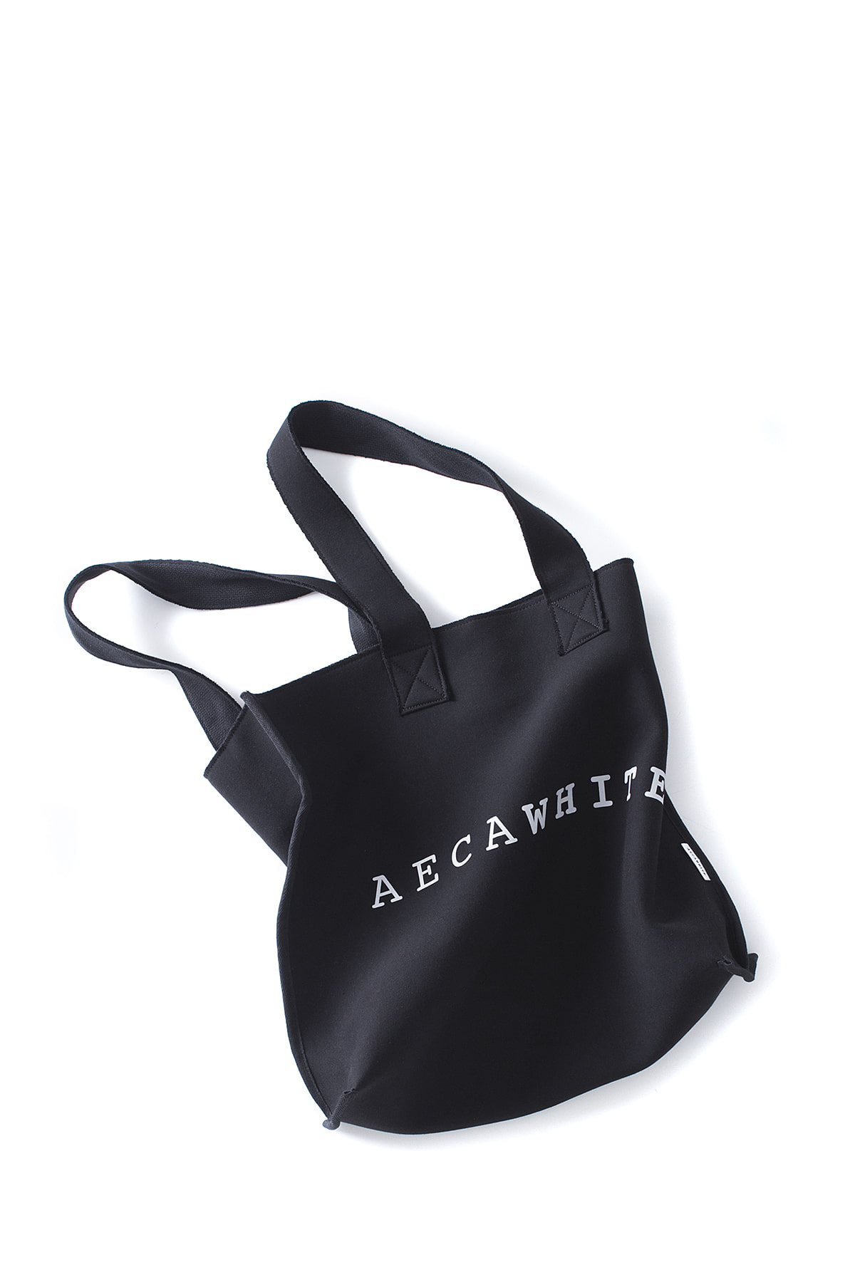 AECA WHITE : Tote Bag (Black)