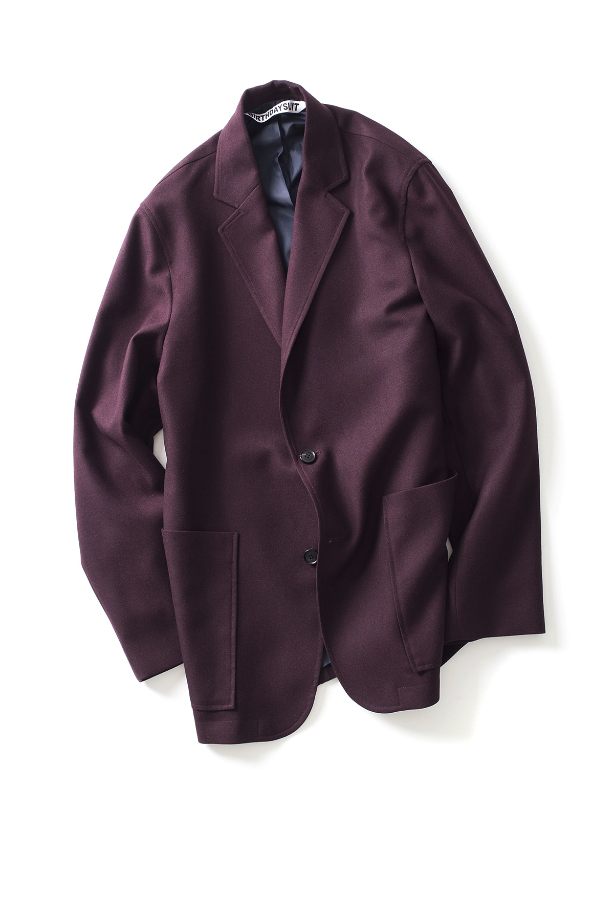 BIRTHDAYSUIT : Daily Suit Jacket (Burgundy)