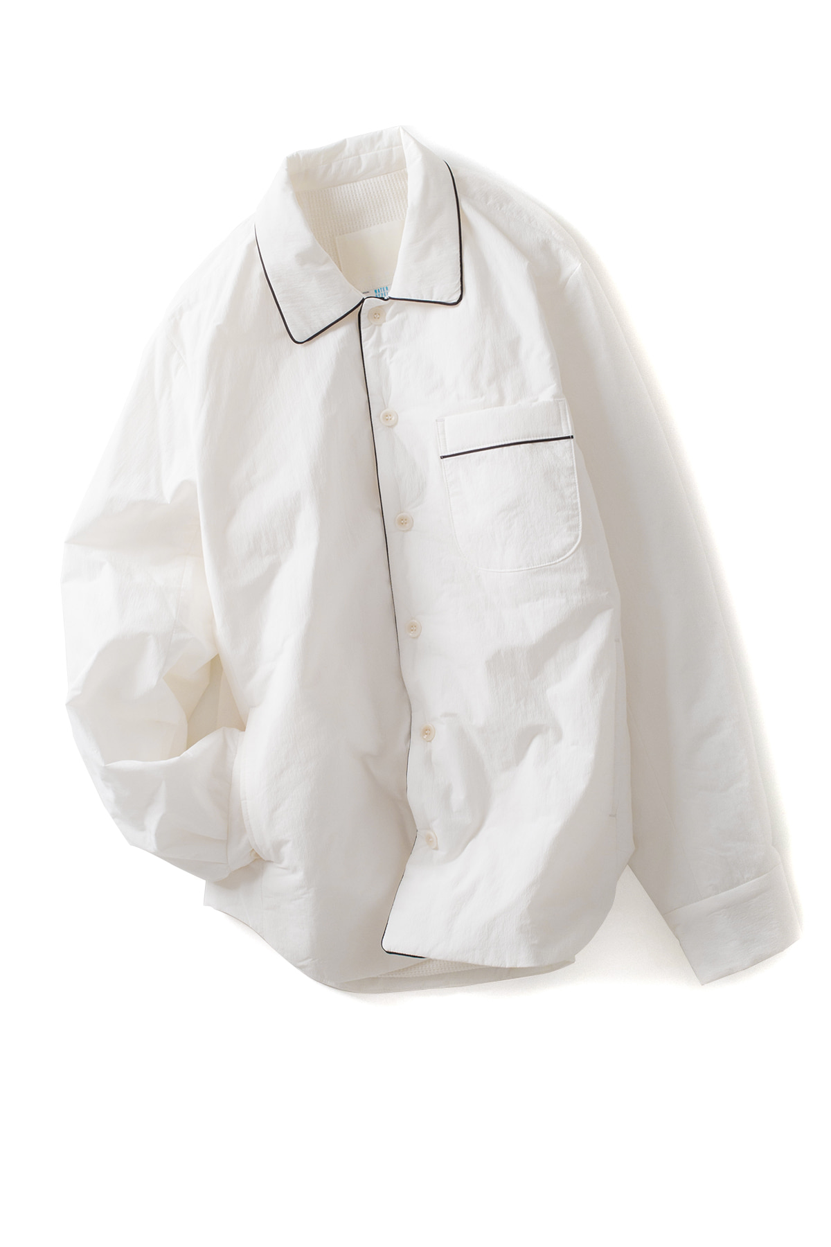 Document : Padded Pajama Shirt (White)