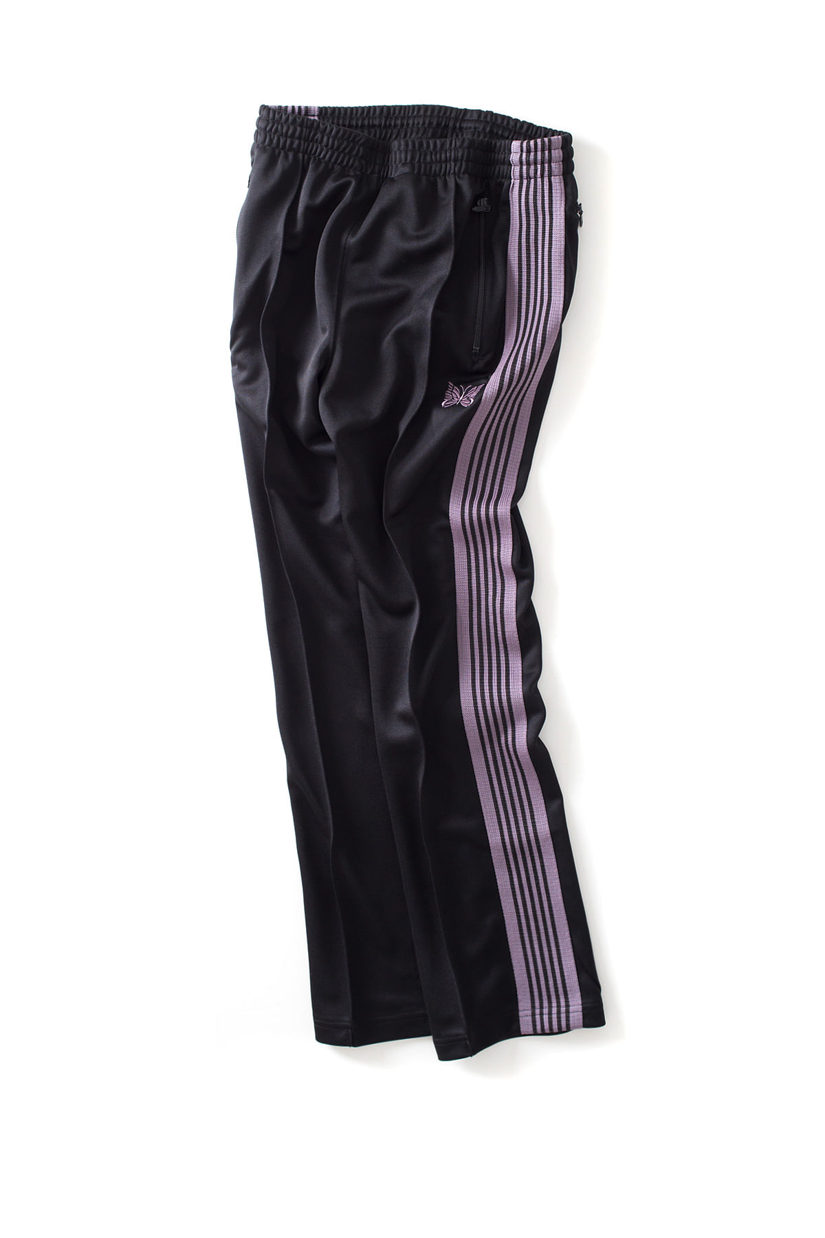 NEEDLES : Narrow Track Pants (Black)