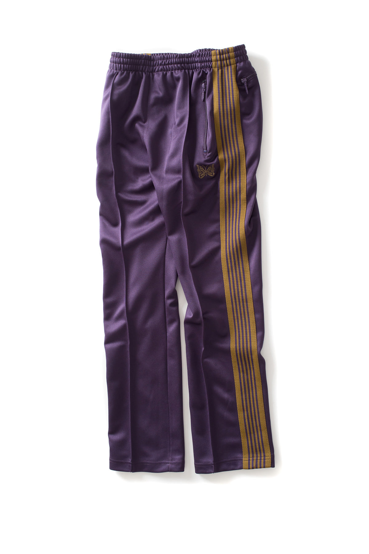 NEEDLES : Narrow Track Pants (Purple)