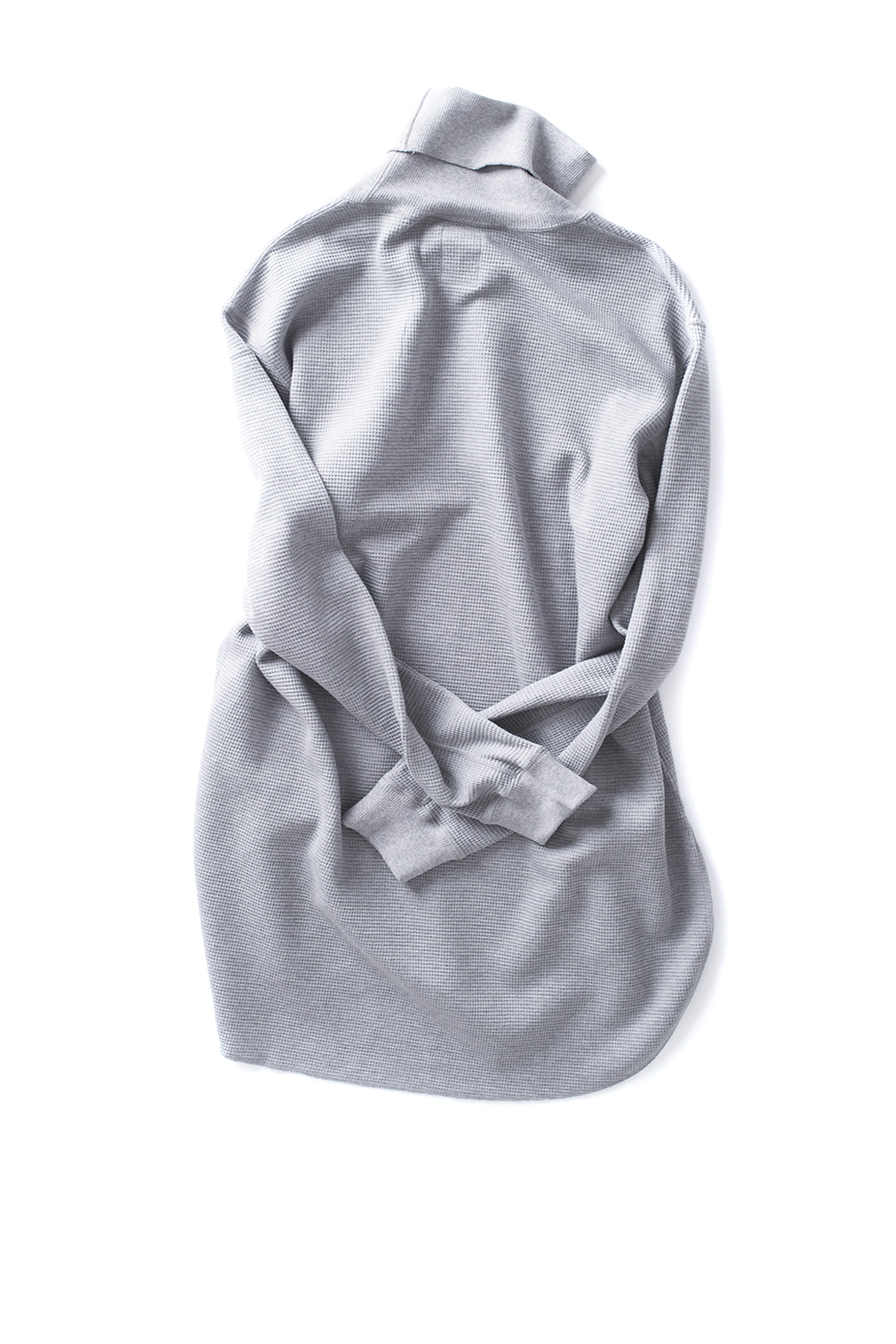 Name : Waffle Thermal Turtleneck (Grey)