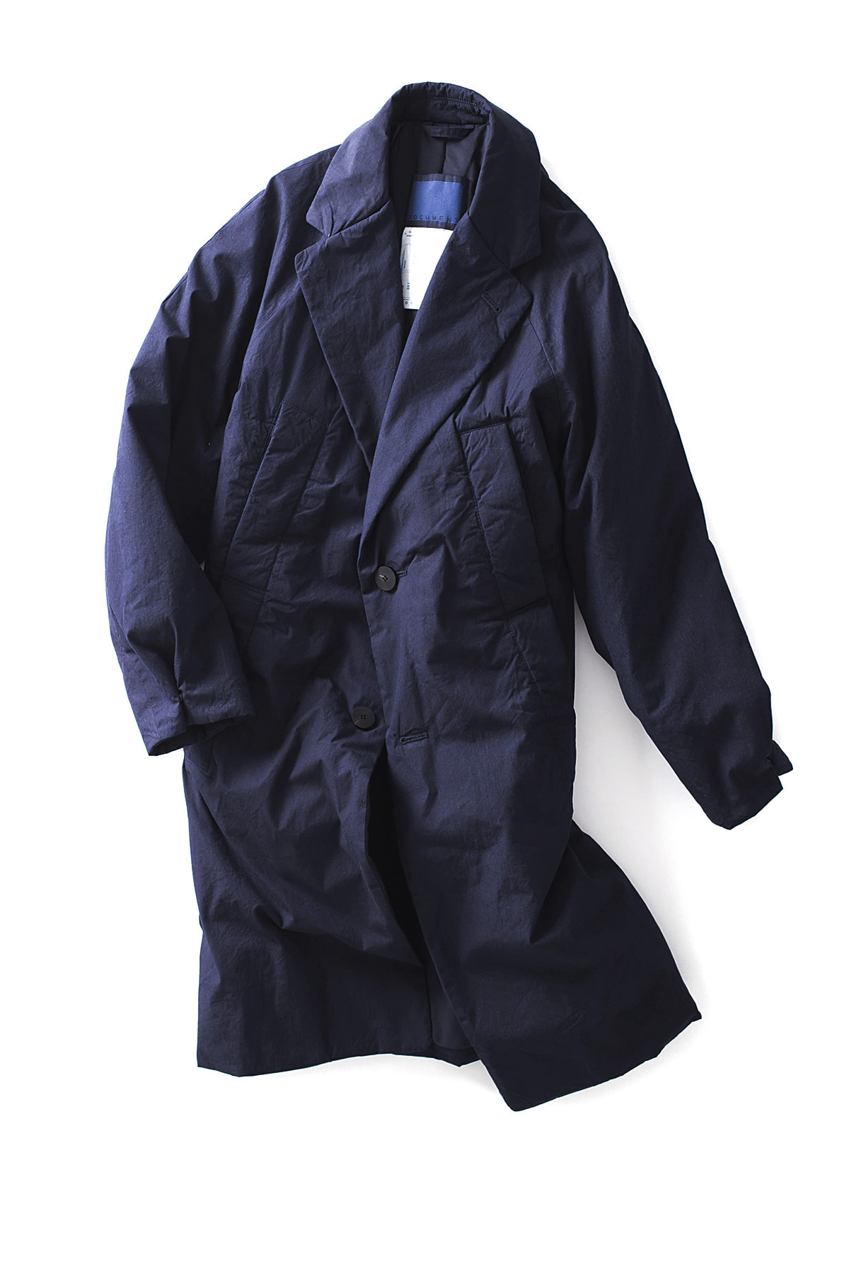 Document : Indigo Padded Coat (Indigo)