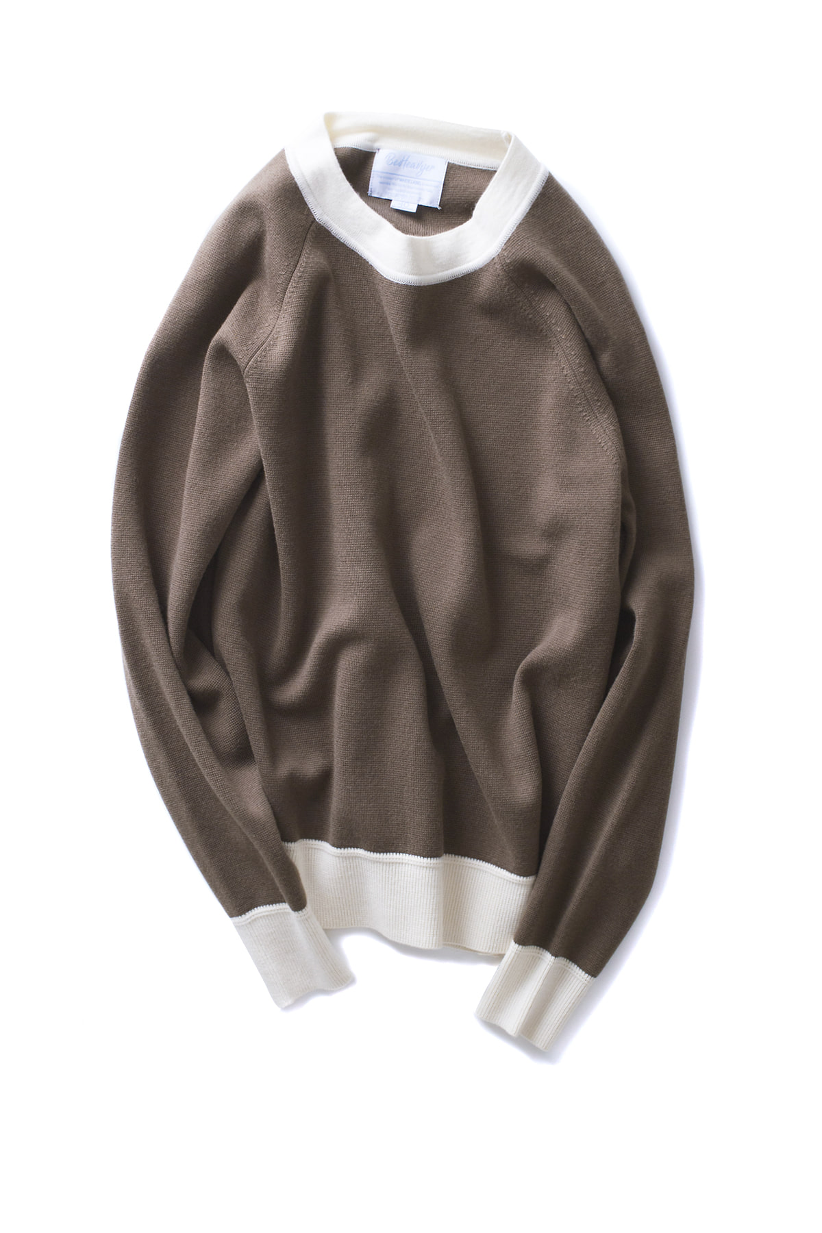 Be Heavyer : BHR Mockneck (Brown)