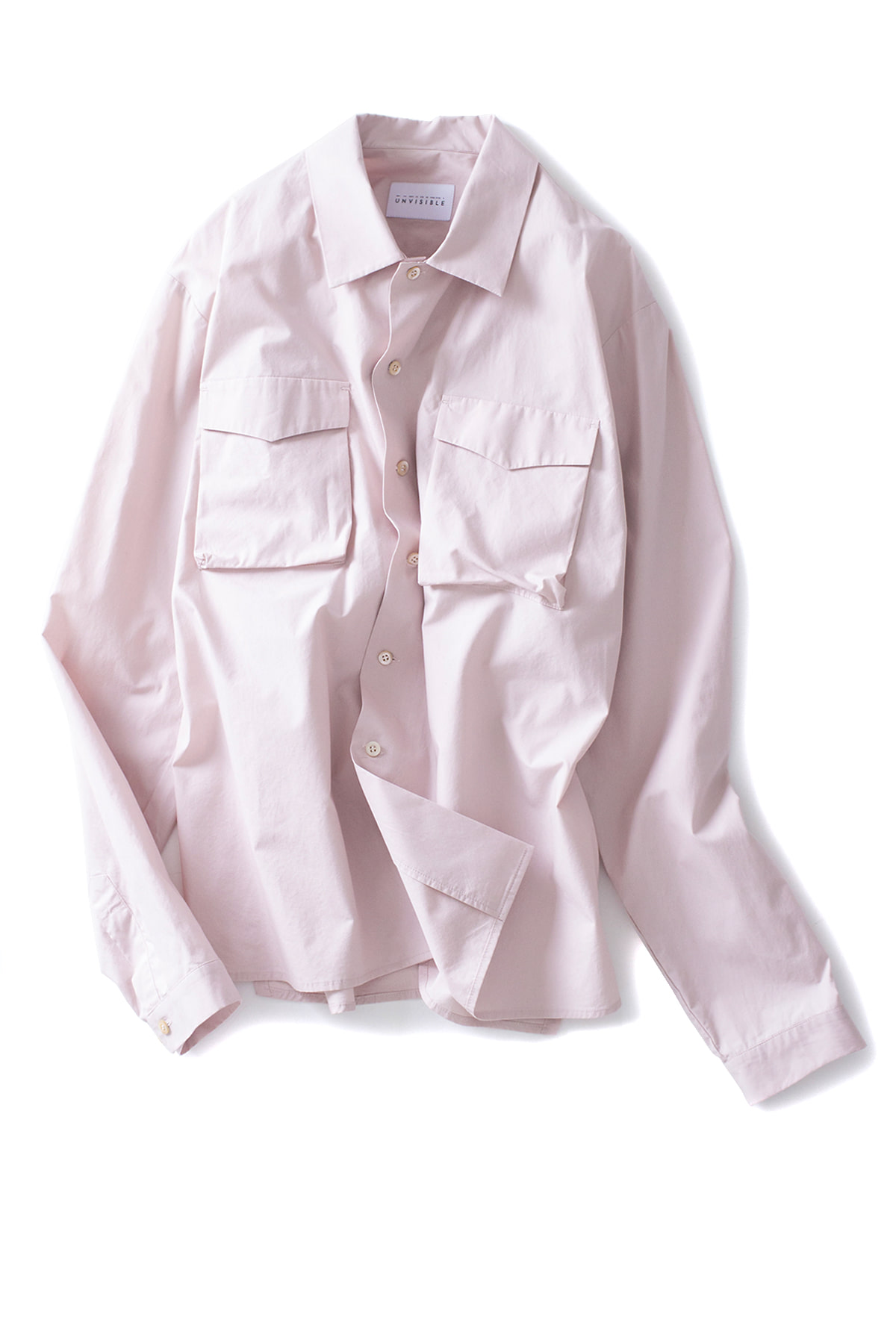 UNVISIBLE : Sunday Shirt (Dust Pink)